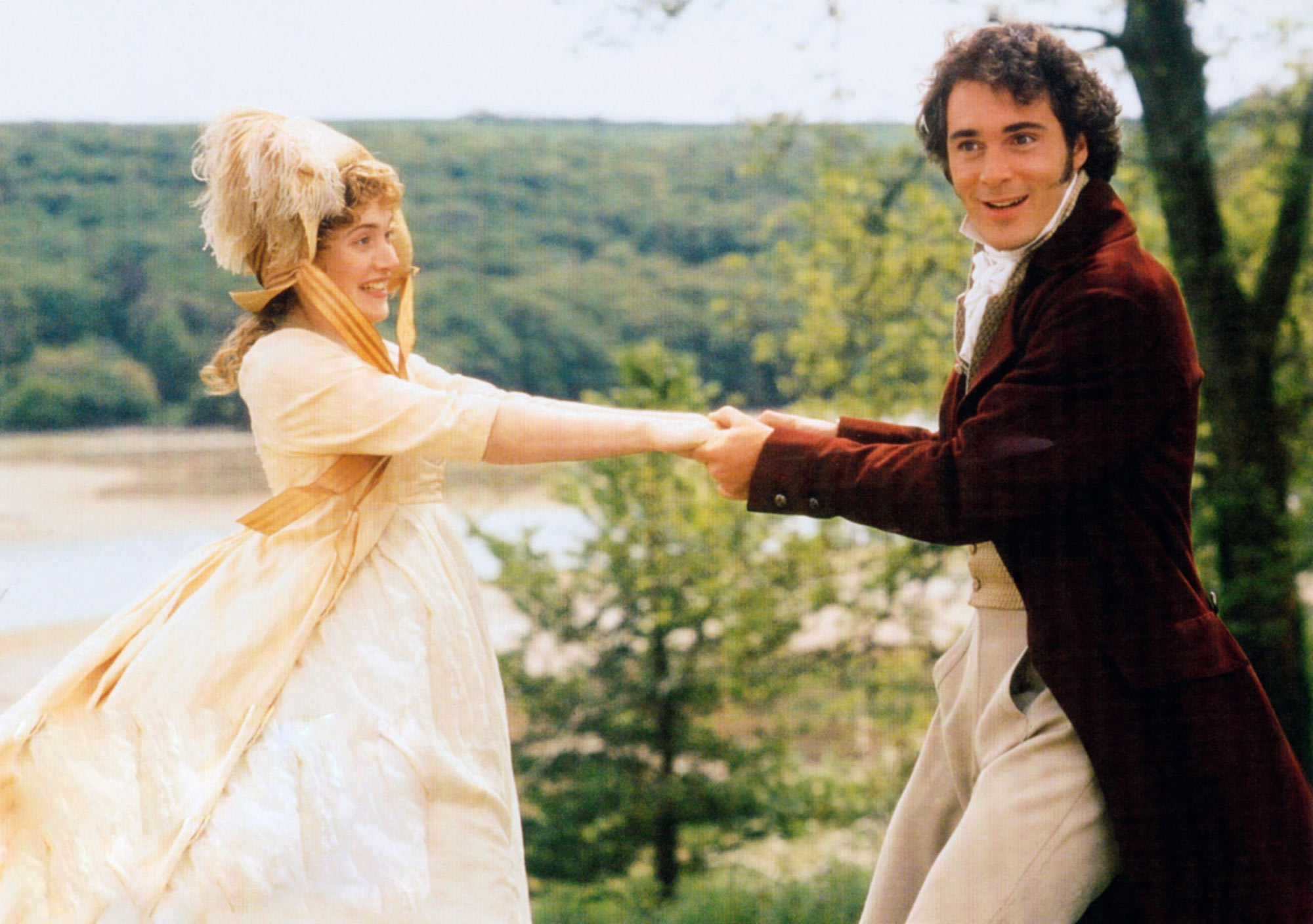 SENSE AND SENSIBILITY, from left, Kate Winslet, Greg Wise, 1995, ©Columbia/courtesy Everett Collecti