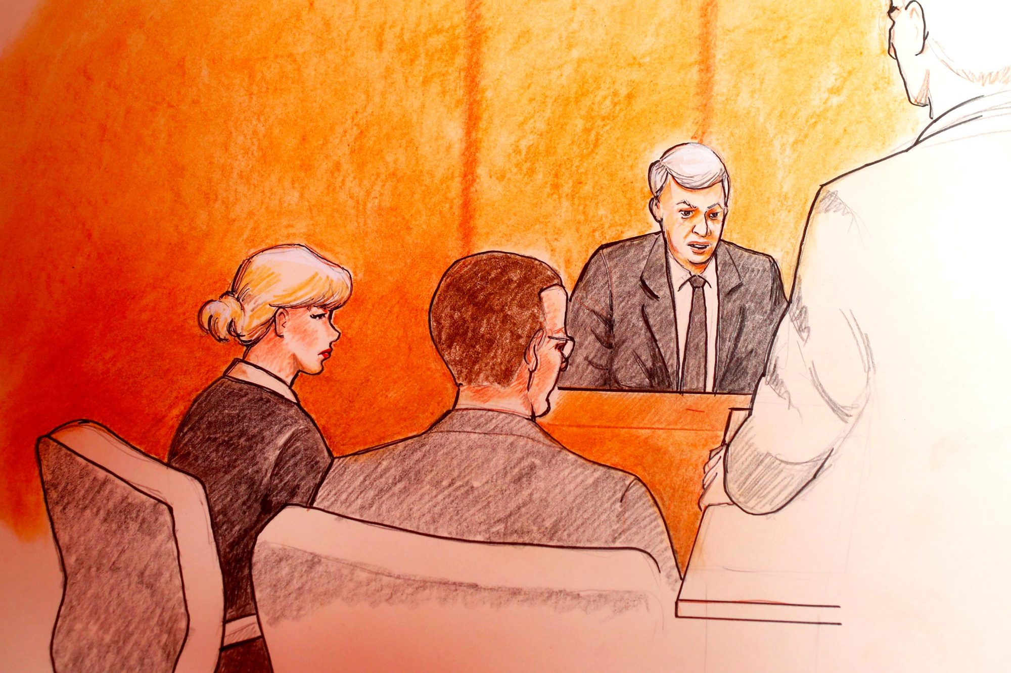 Taylor Swift's Trial: See the Courtroom Sketches