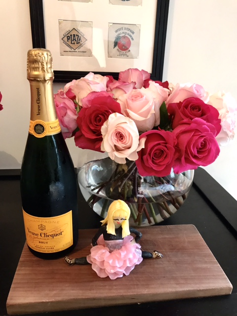 7 - Champagne + Flowers