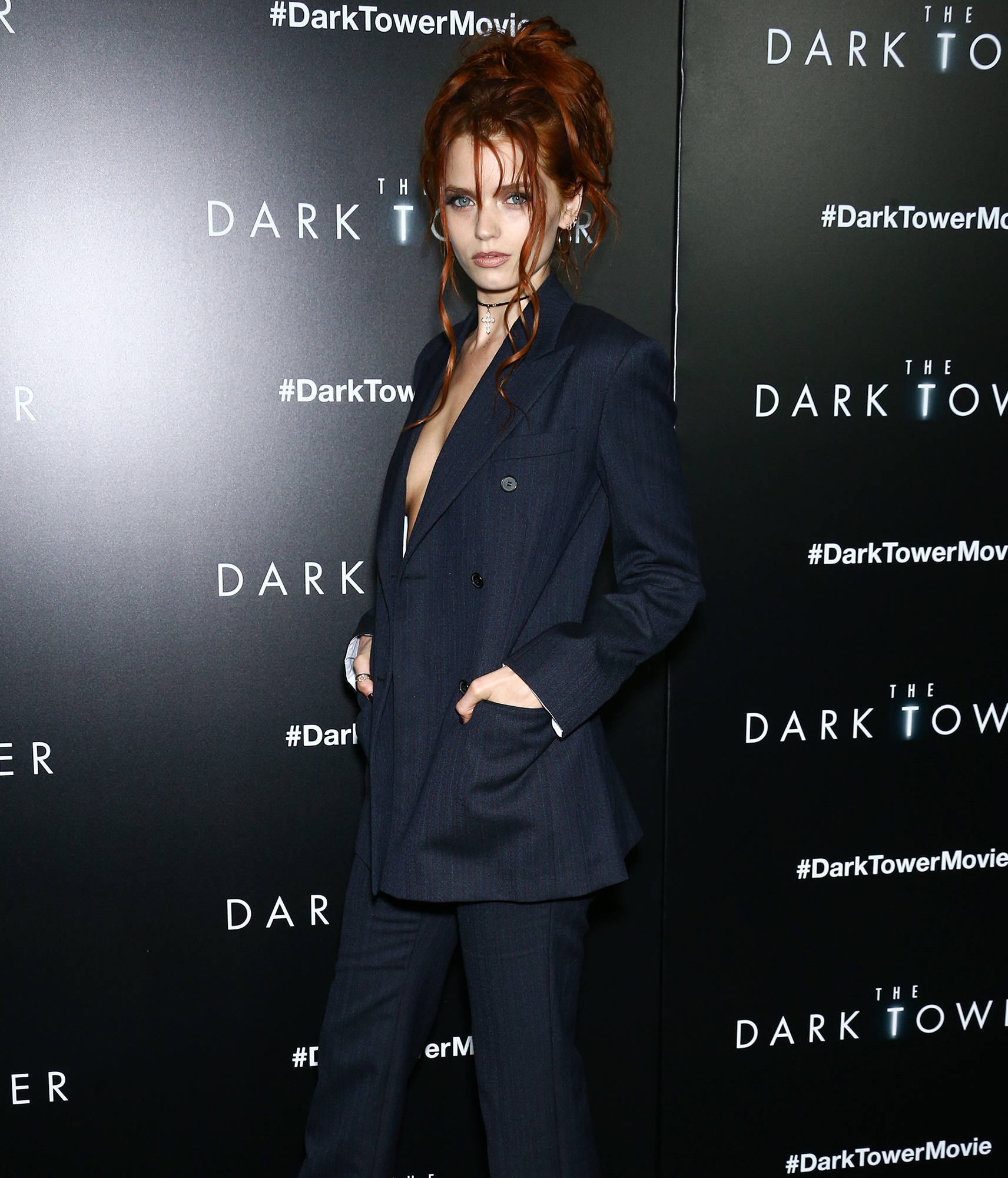 Celebrities attend the special screening of 'The Dark Tower' in New York City