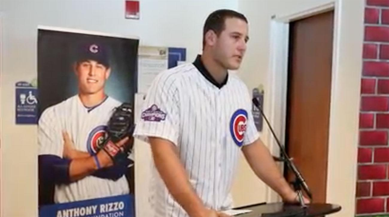 anthony-rizzo-cries-luries-childrens-hospital
