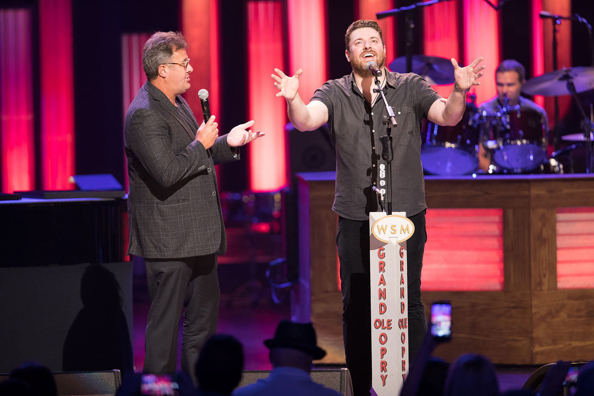 Chris Young at Grand Ole OpryCredit: Chris Hollo/Grand Ole Opry