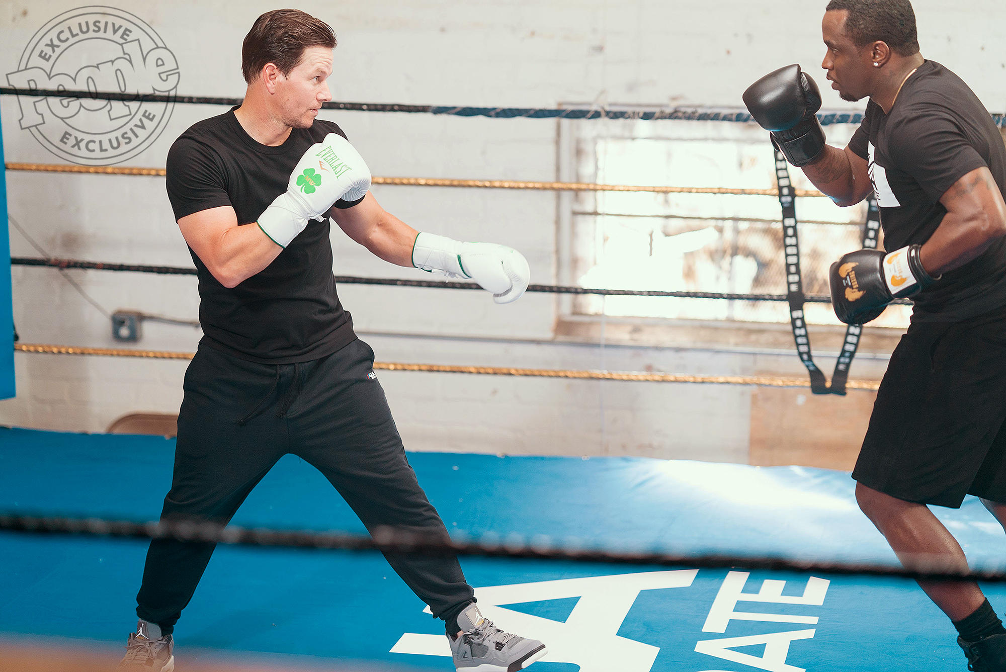 Diddy and Mark Wahlberg commercialCredit: Courtesy Combs Enterprises