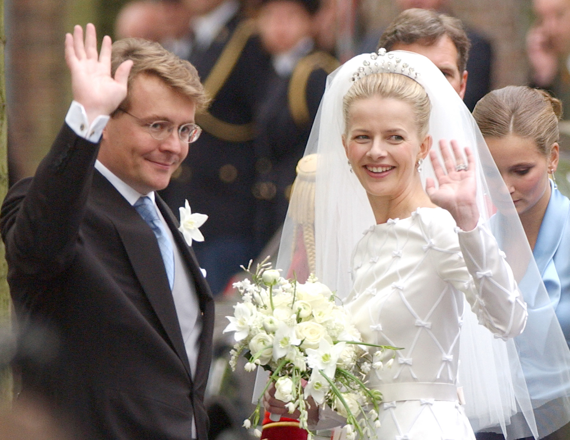 Wedding Of Prince Johan Friso & Mabel Wisse Smit
