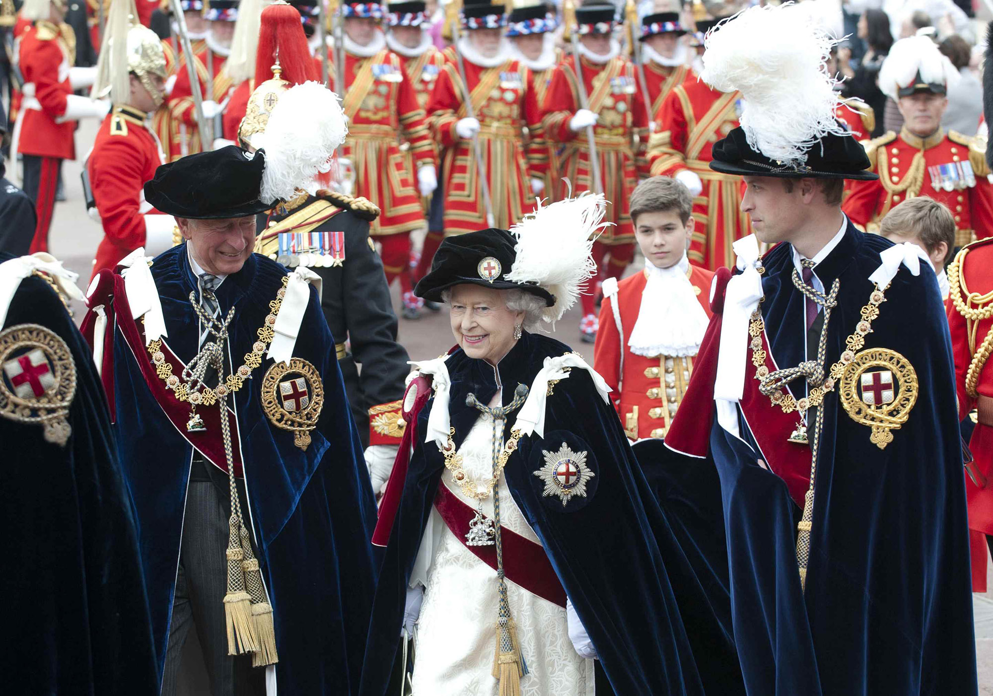 The Order Of The Garter Service