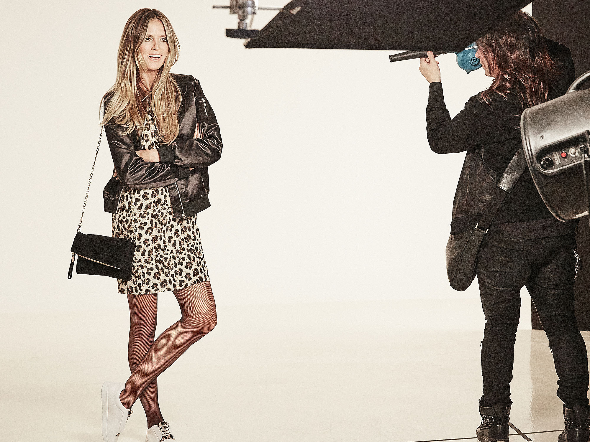 Heidi Klum poses in new clothing collectionCredit: Rankin/Lidl