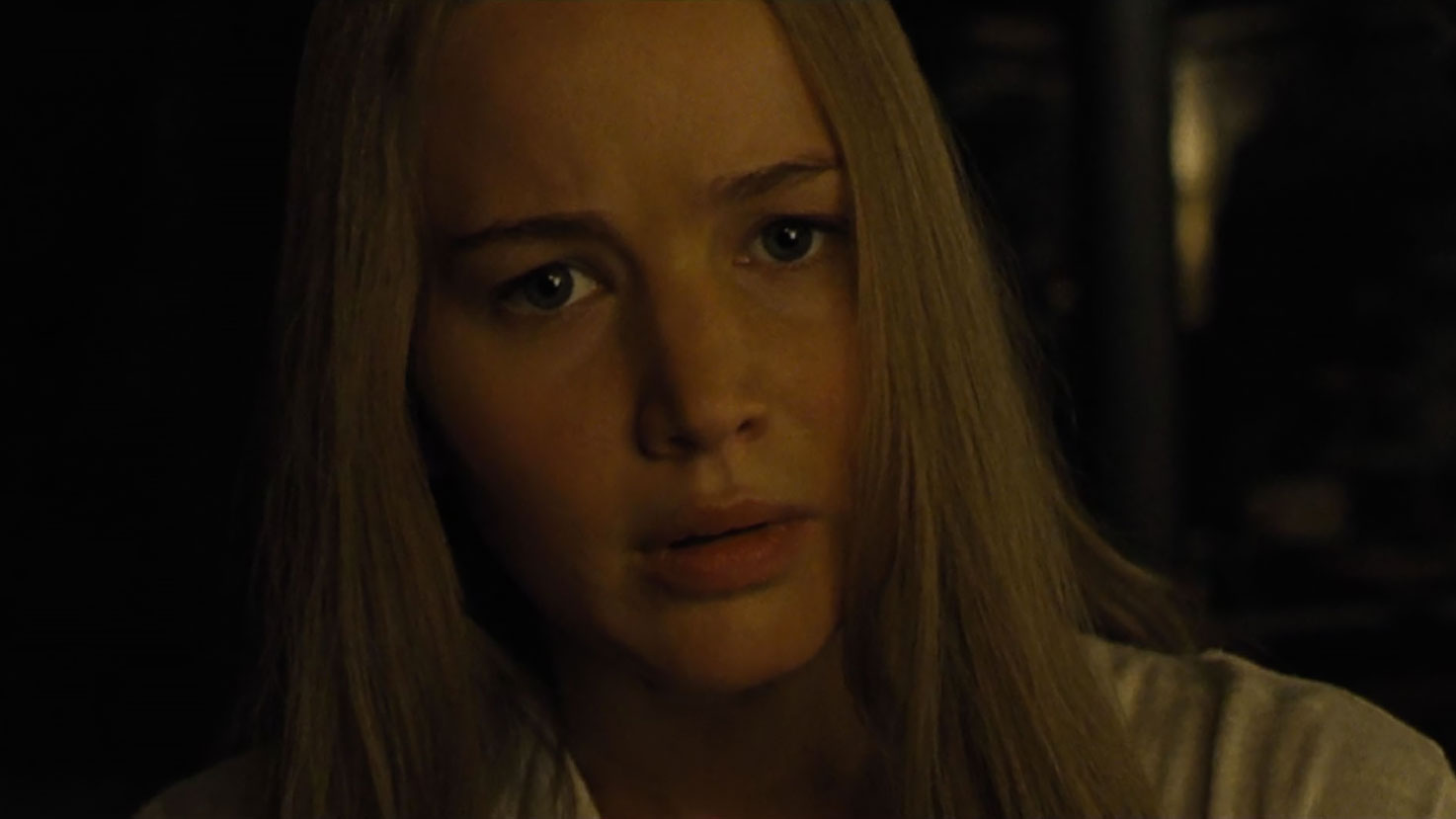 Jennifer Lawrence in Mother!Credit: Paramount Pictures