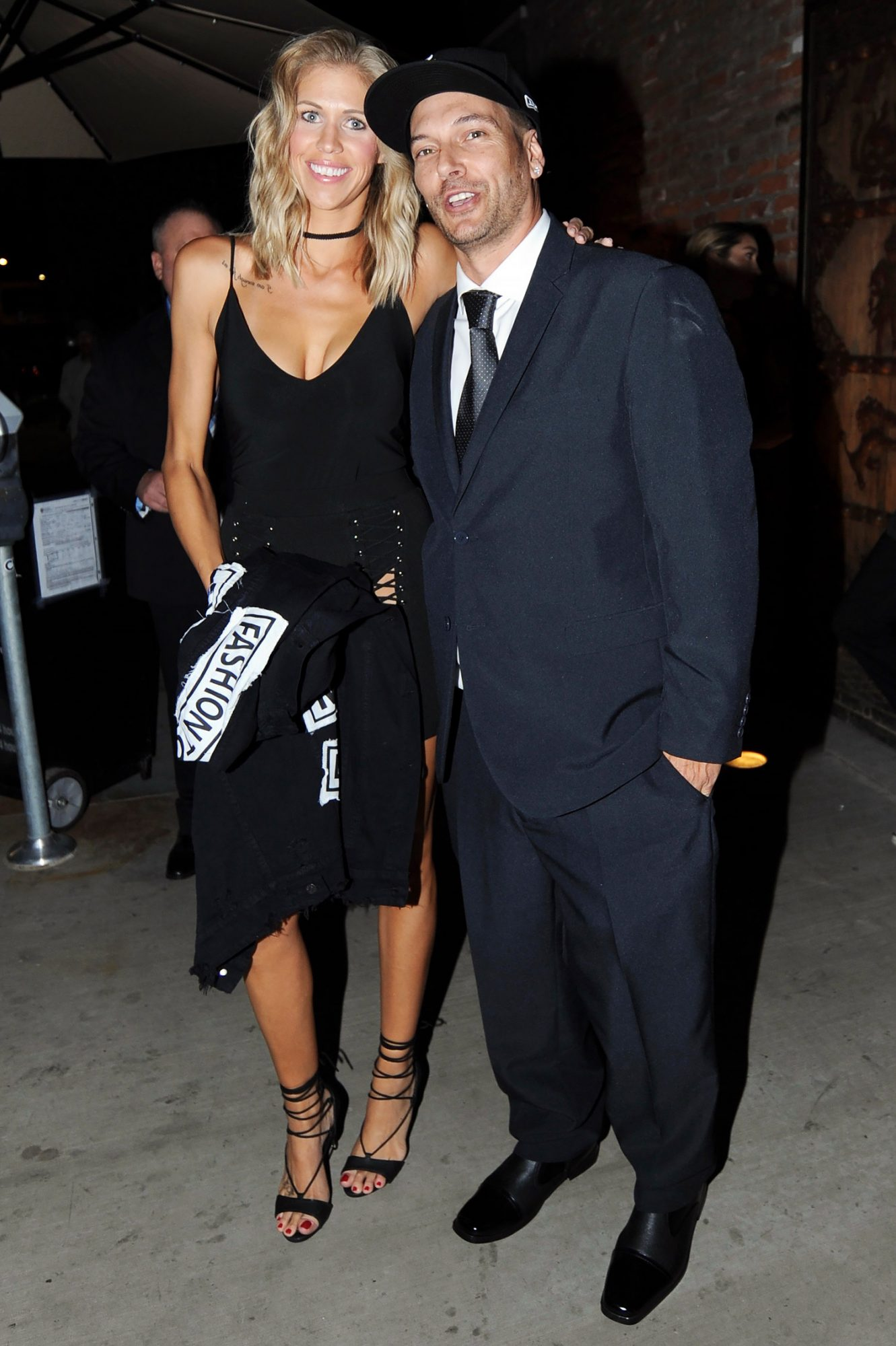 Kevin Federline and his wife Victoria Prince are seen leaving Tao in Hollywood