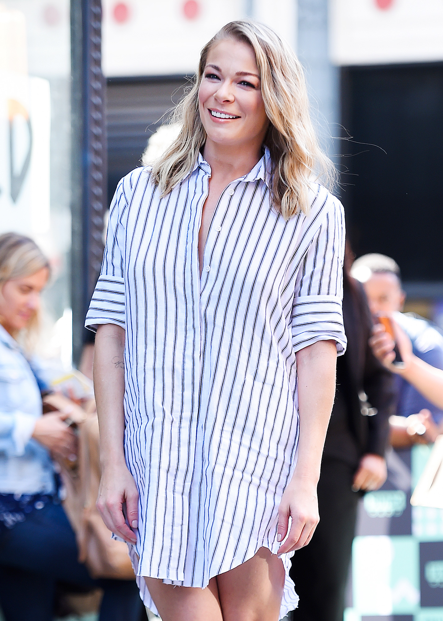 BuzzFoto Celebrity Sightings In New York - August 17, 2017