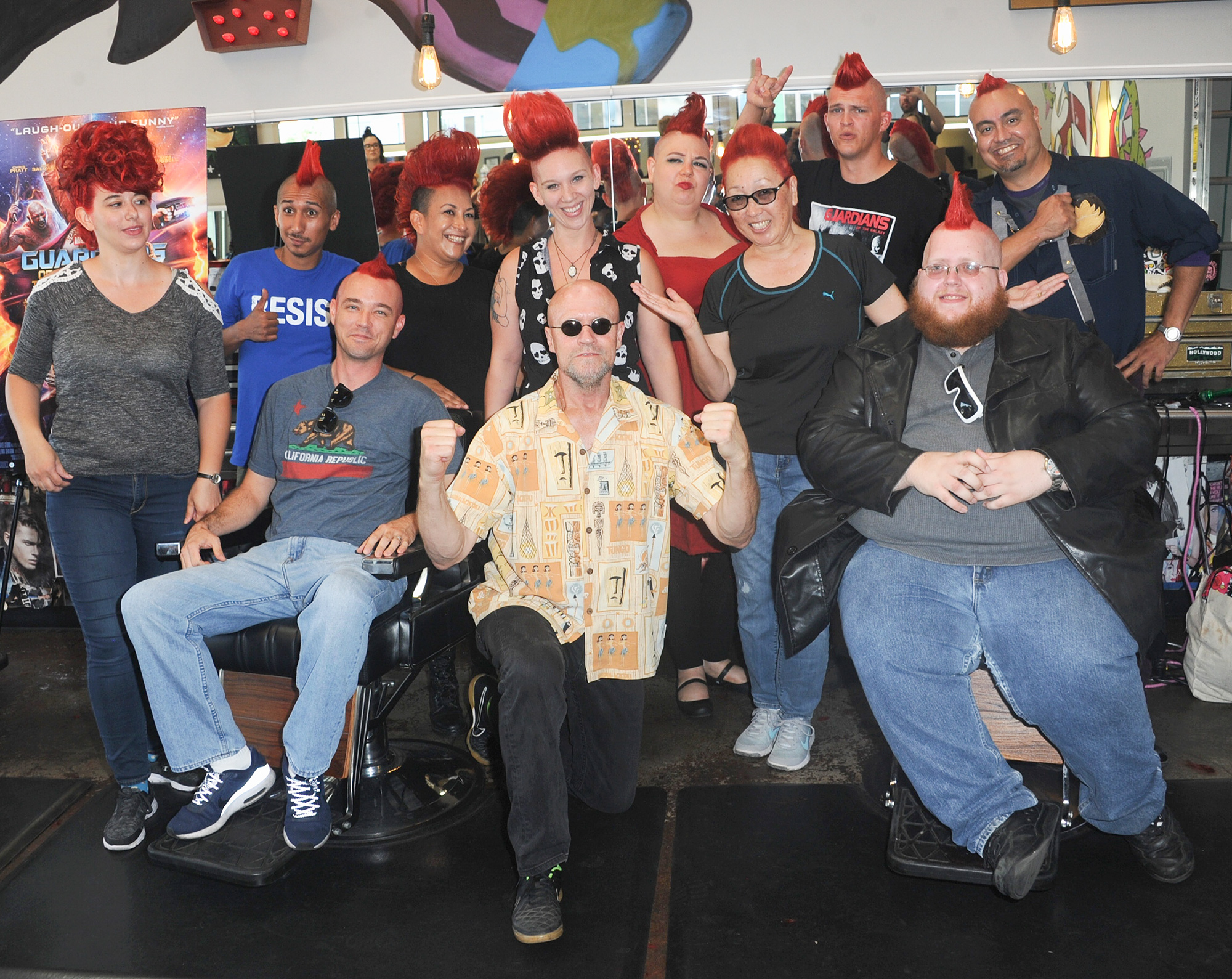 """Disney Celebrates Release Of """"Guardians Of The Galaxy Vol. 2"""" Blu-ray With Michael Rooker"""