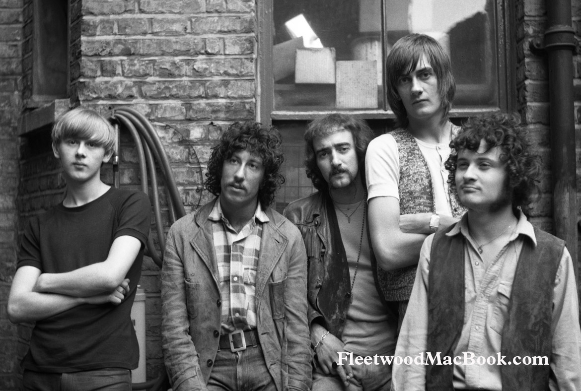 Fleetwood Mac 1968 © Courtesy of Sony Music Archives