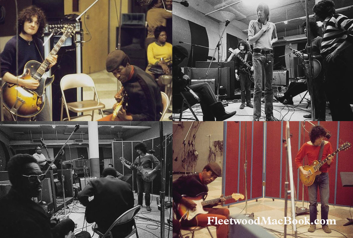 Fleetwood Mac at Chess Records 1969 © Jeff Lowenthal