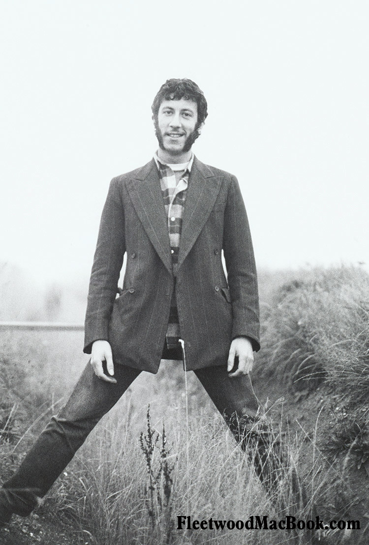 Peter Green 1967 © Courtesy of Mick Fleetwood Archive
