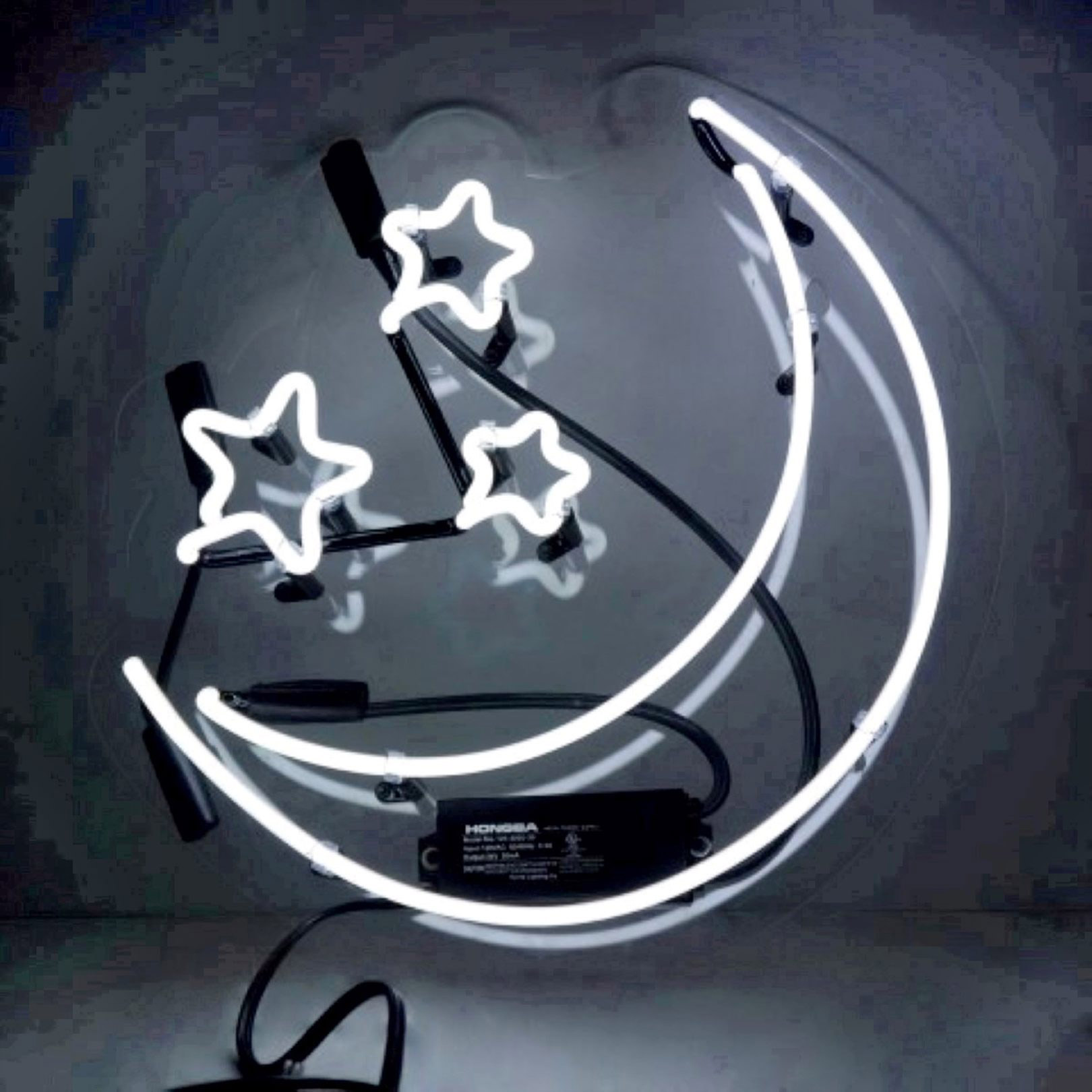 The Oliver Gal Artist Co.Moon and Stars Neon SignCredit: Maisonette