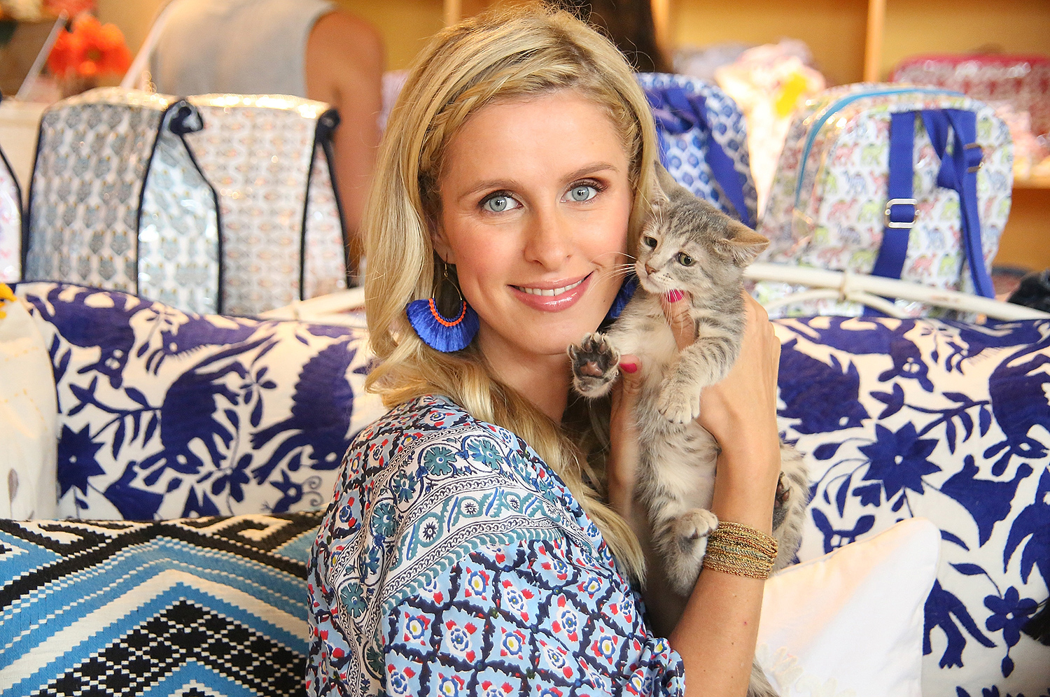Roller Rabbit Charity Shopping Event With Nicky Hilton Rothschild