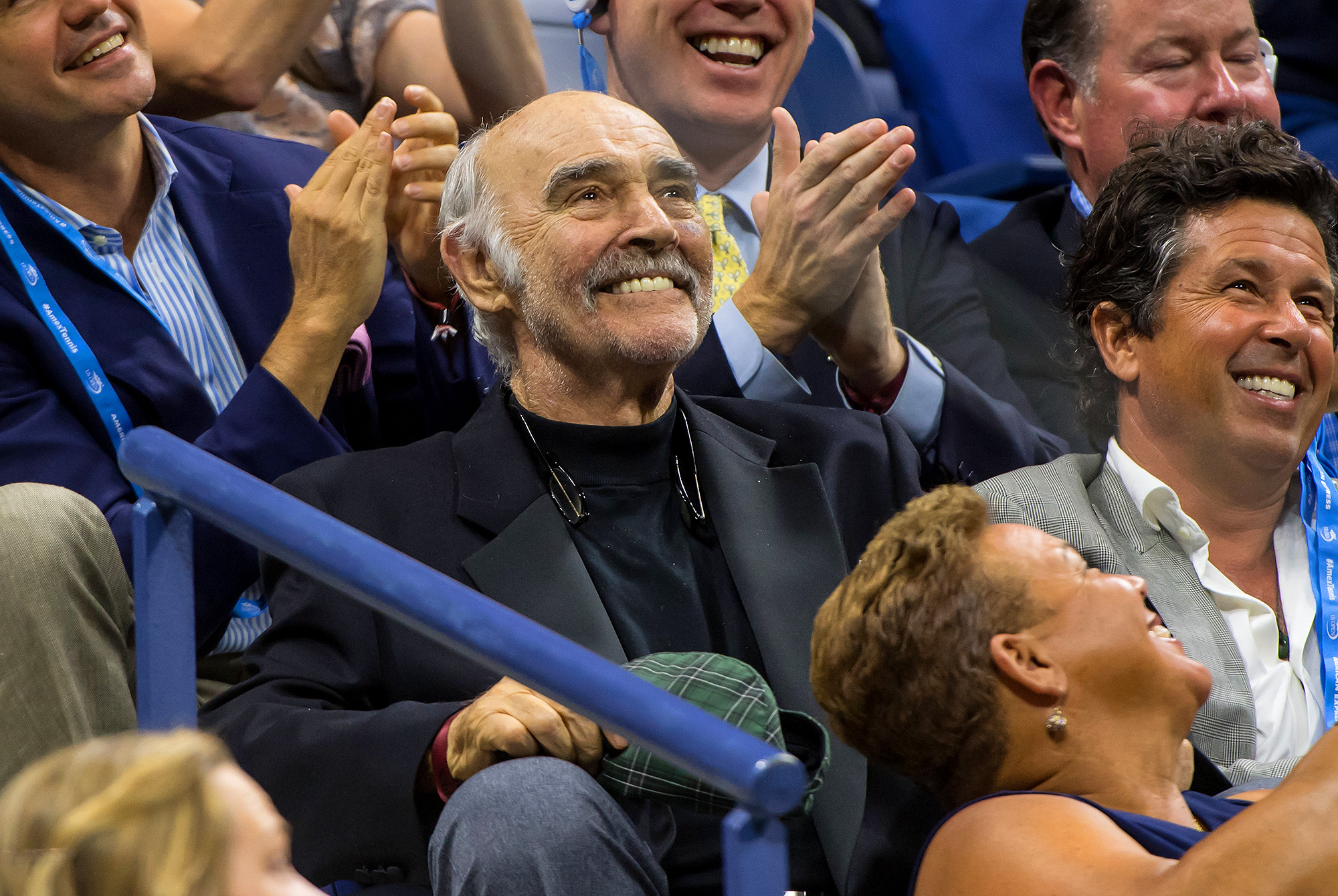 Actor Sean Connery Attends the 2017 US Open Tennis Championships