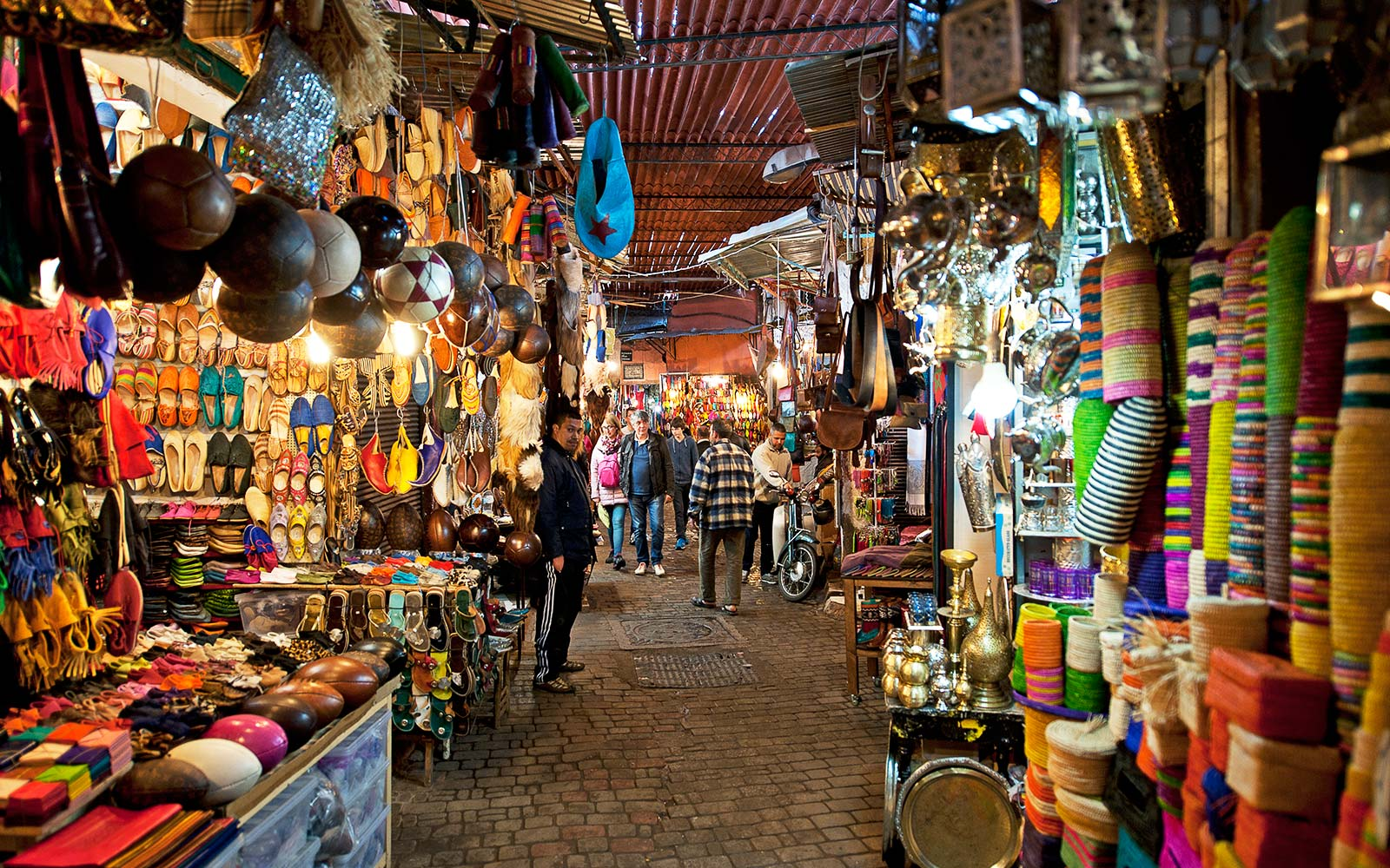 Souk sensation, Marrakech, Morocco