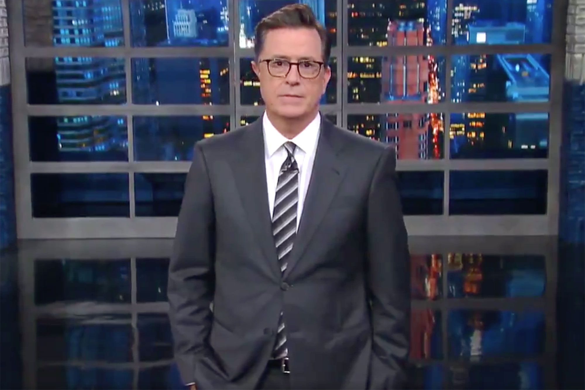 stephen colbert The Late ShowCredit: The Late Show/Twitter