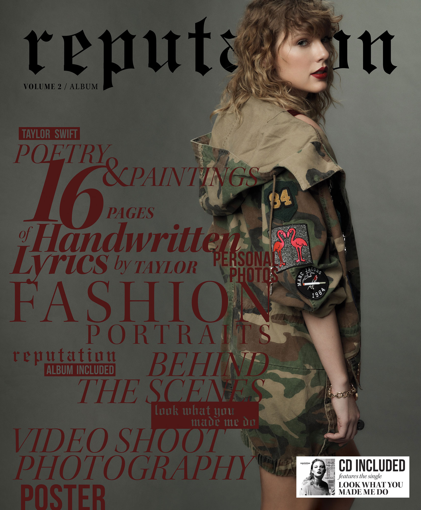 Taylor Swift Reputation Volume 2 Album CoverCredit: Mert & Marcus