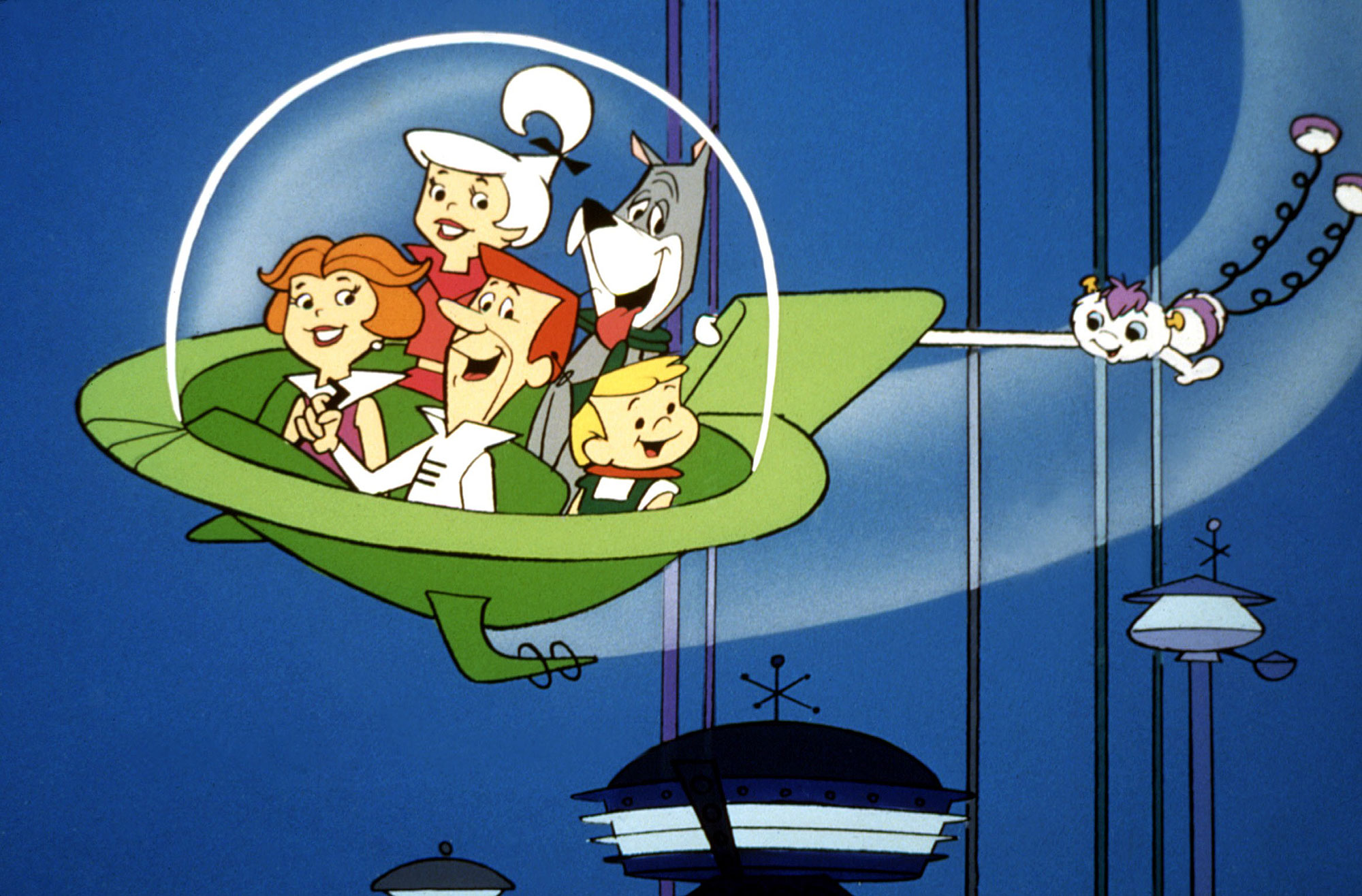 THE JETSONS, Jane, Judy, Astro, Elroy & George Jetson, 1962-87