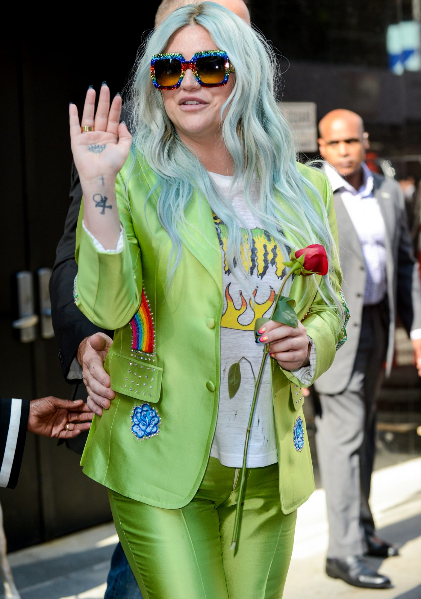Celebrity Sightings in New York City - August 09, 2