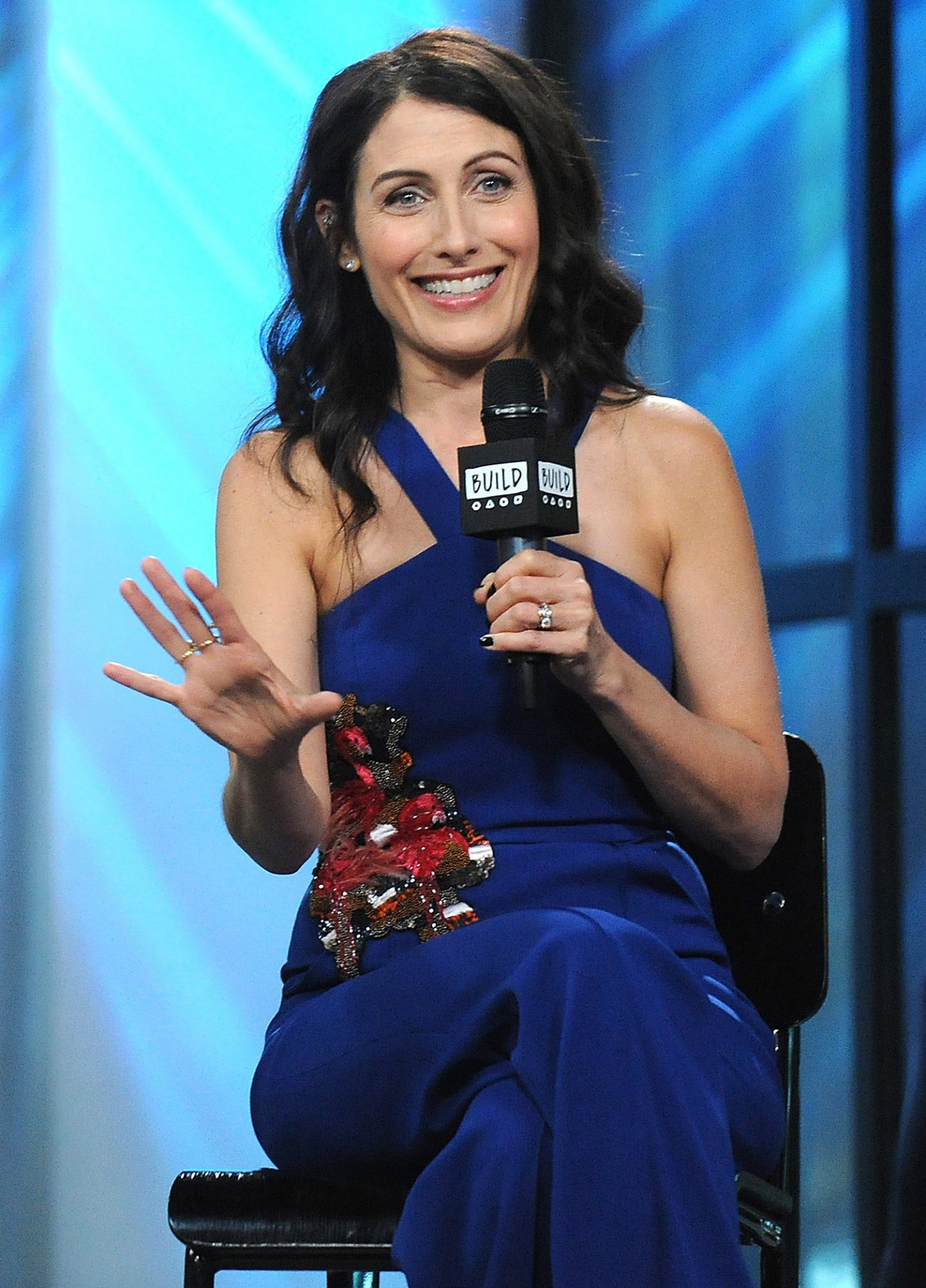 """Build Presents Lisa Edelstein Discussing """"Girlfriends' Guide To Divorce"""""""