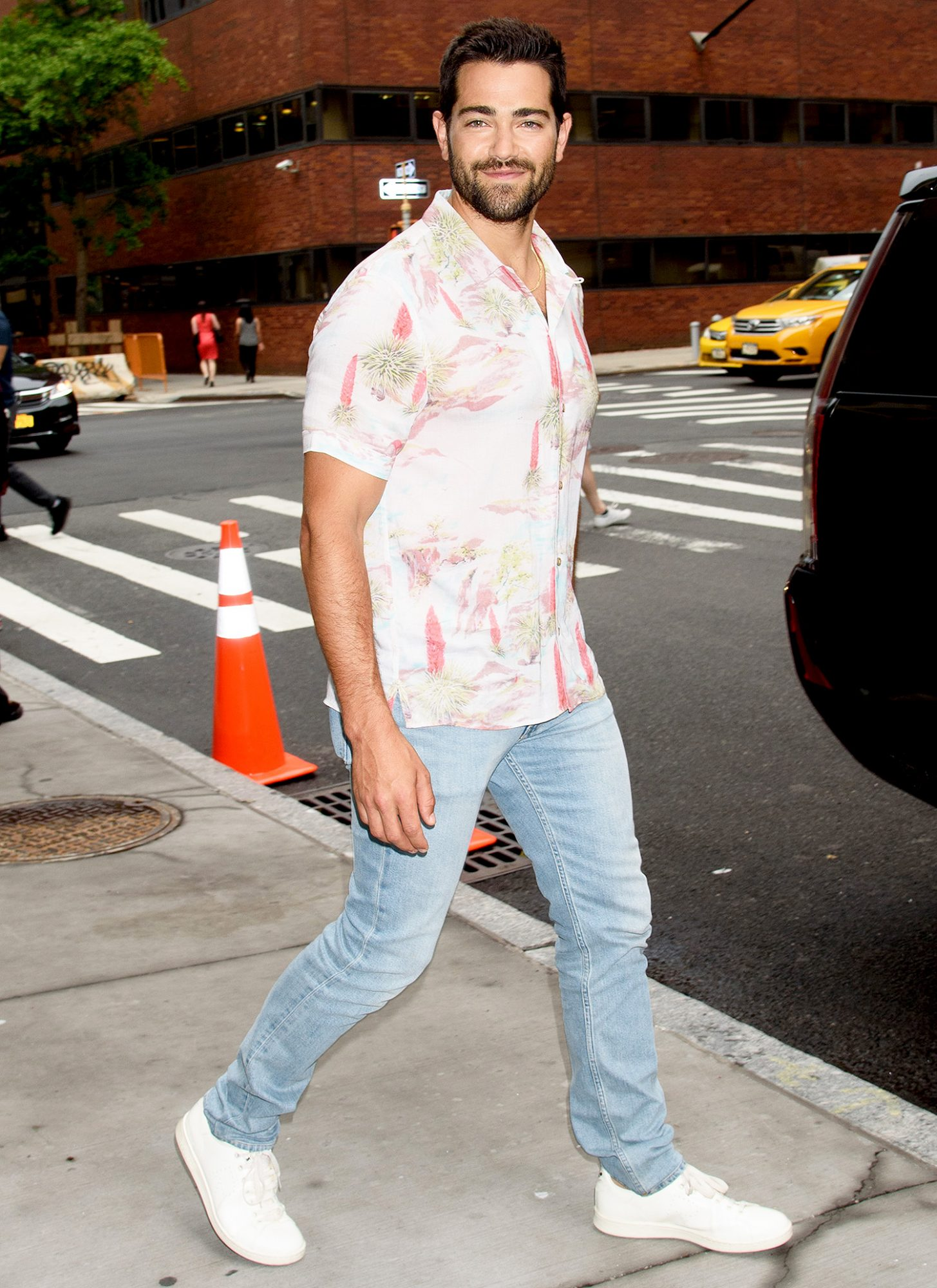 Celebrity Sightings In New York City - August 2, 2017