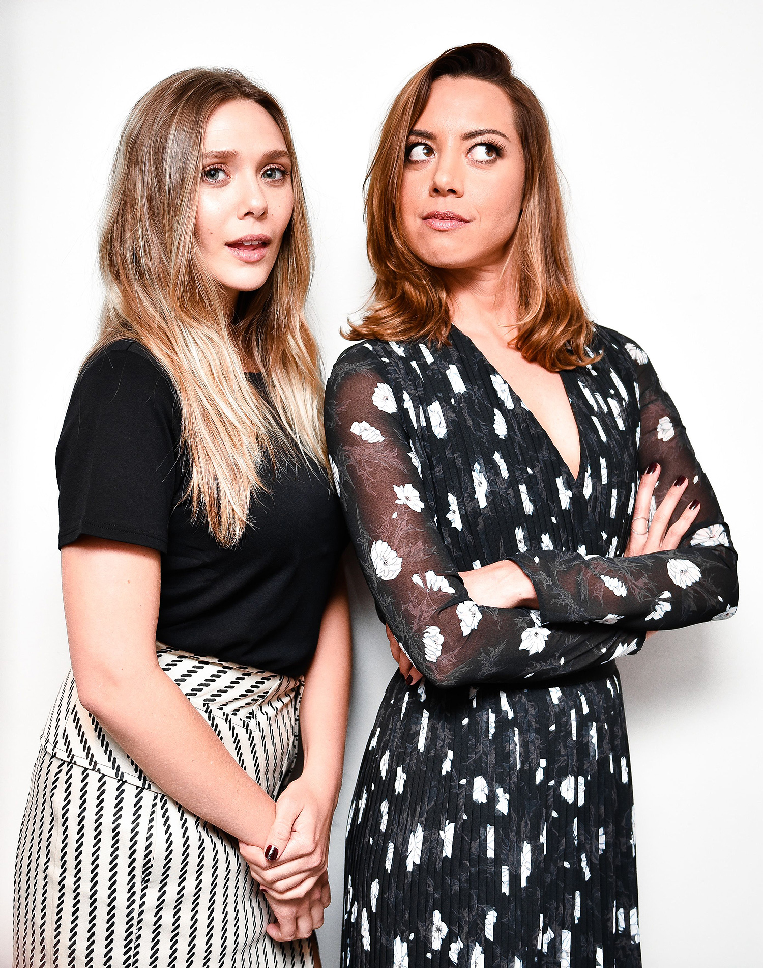 The New York Times presents ScreenTimes with Aubrey Plaza,Elizabeth Olsen and Matt Spicer, Florence Gould Hall, New York, USA - 07 Aug 2017