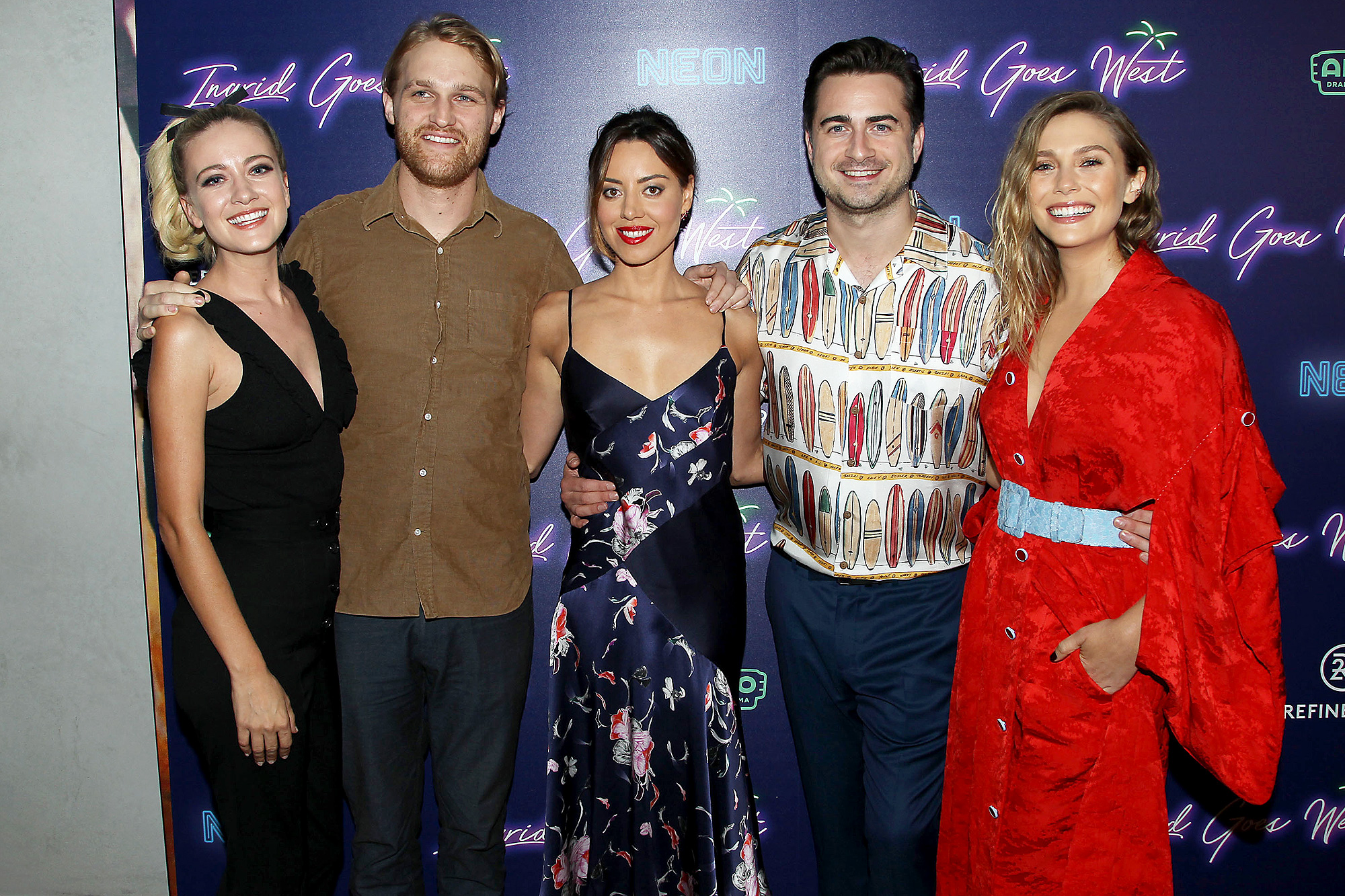 Neon hosts the New York premiere of 'Ingrid Goes West', New York, USA - 08 Aug 2017