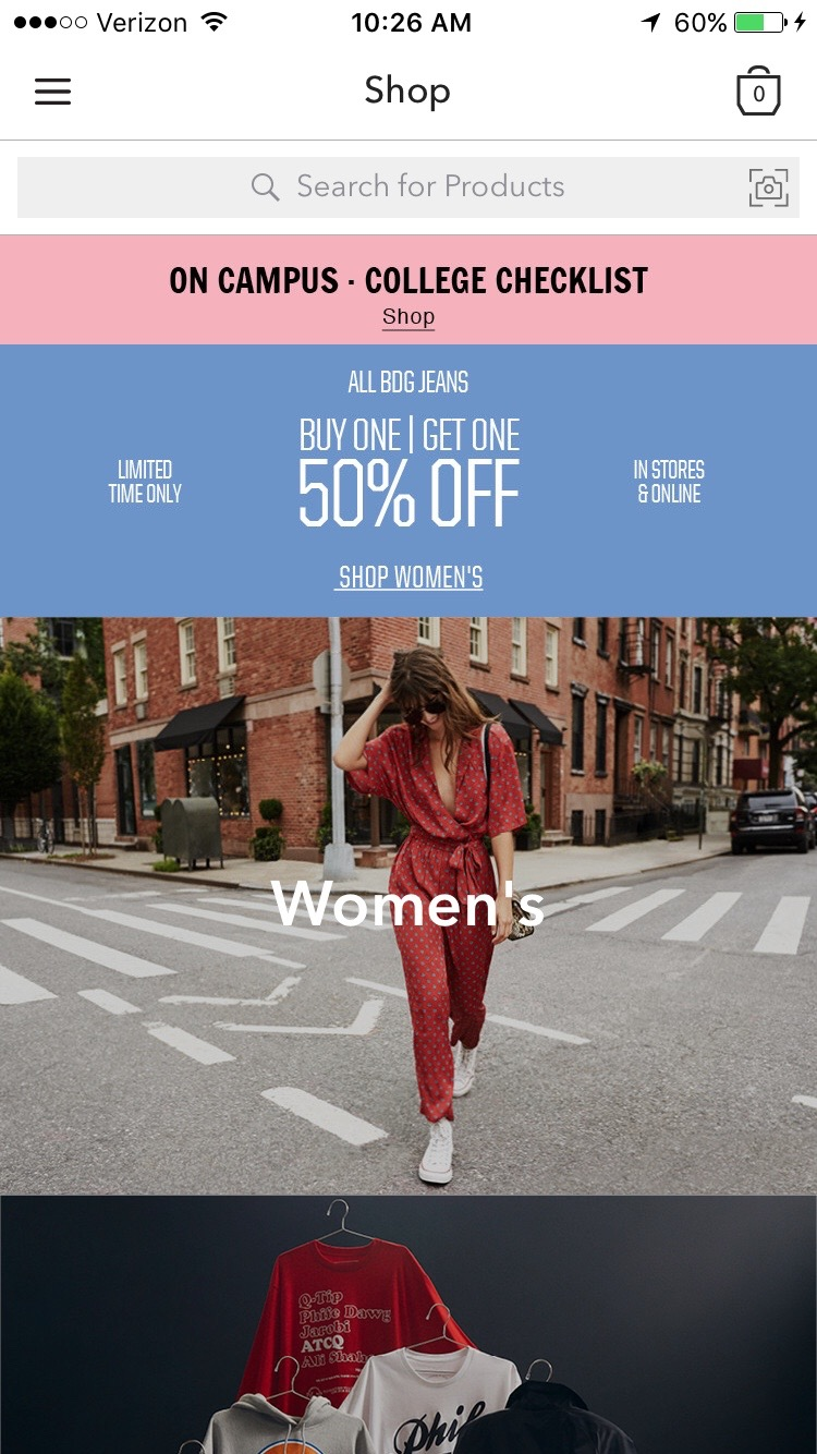 urban outfitters app