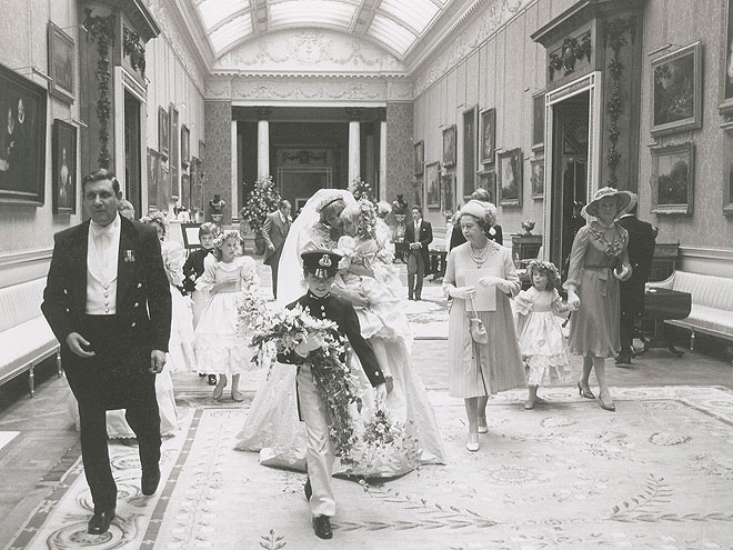 Diana In Procession After Wedding