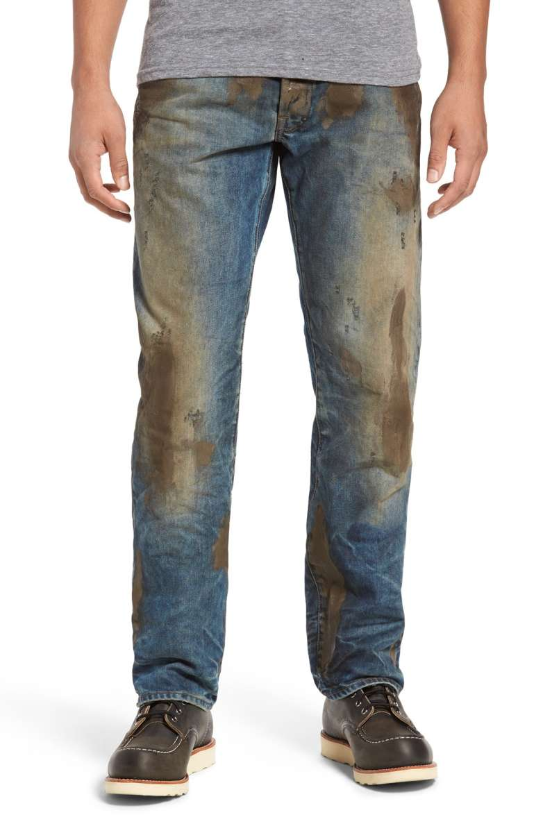 dirty jeans nordstrom viral fashion