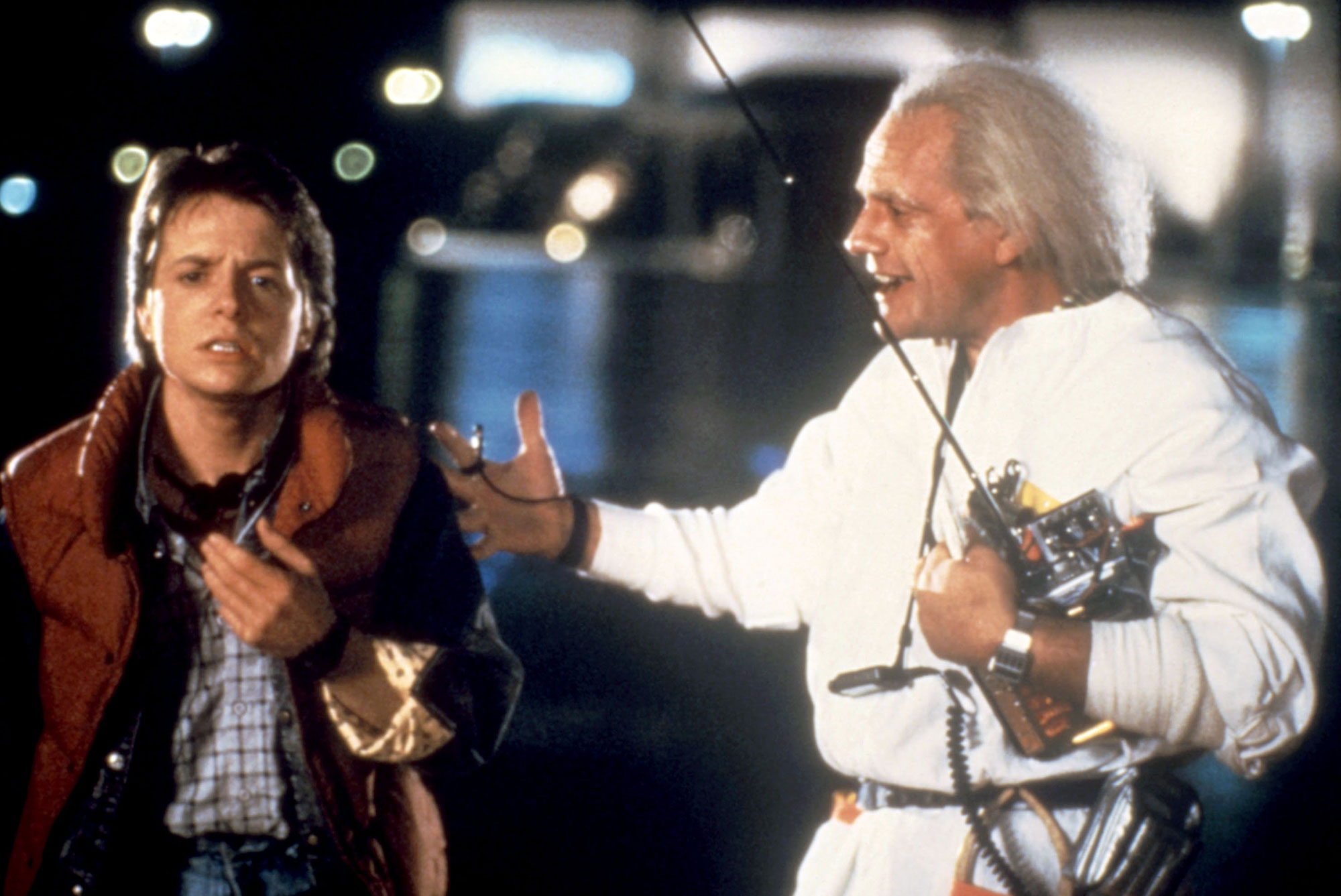 BACK TO THE FUTURE, Michael J. Fox, Christopher Lloyd, 1985, (c)Universal/courtesy Everett Collectio