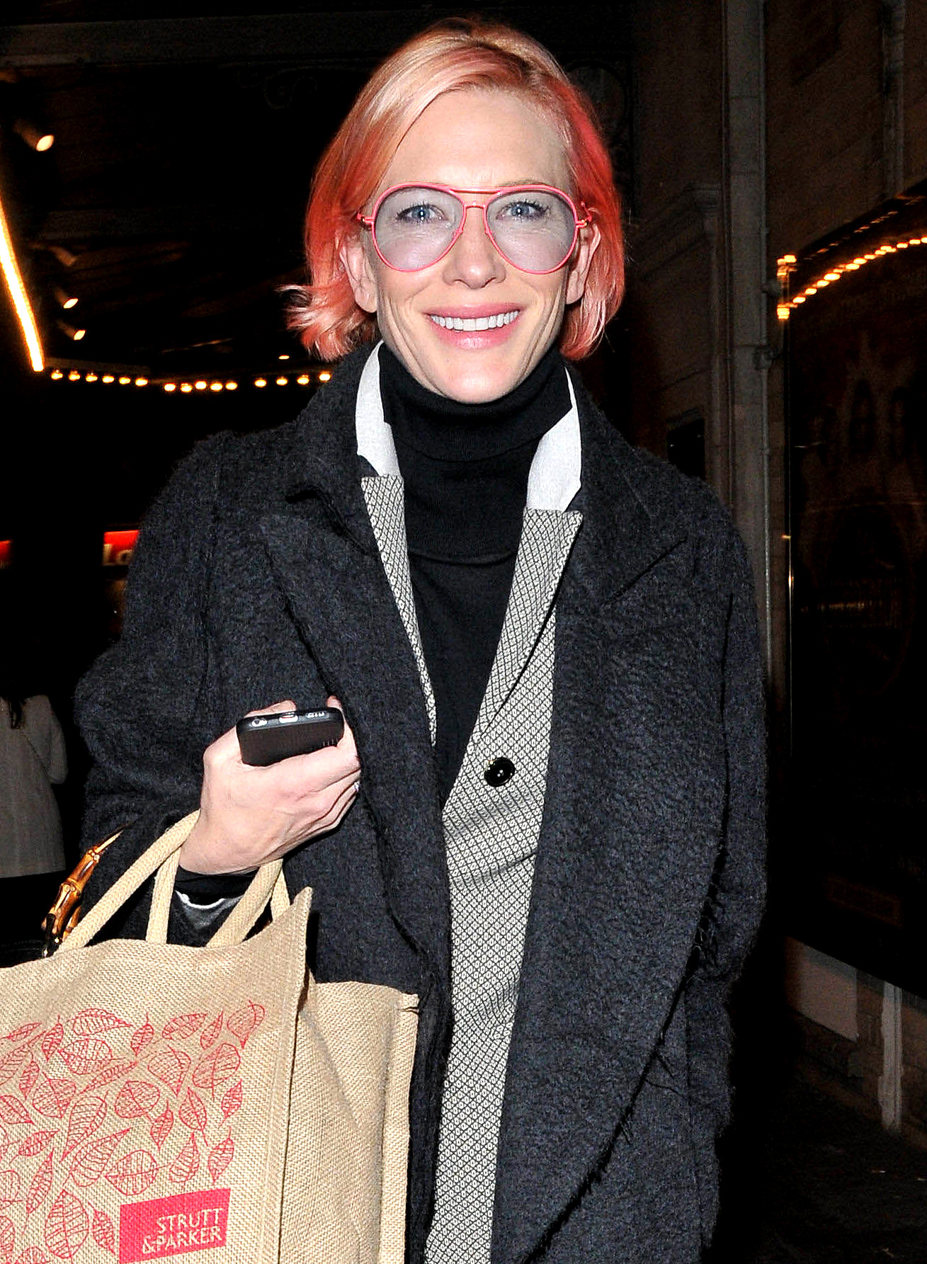 Cate Blanchett out and about, London, Britain - 23 Mar 2016