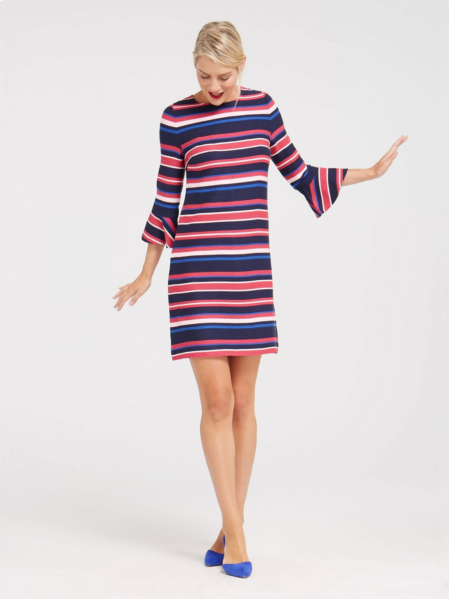 POP STRIPE DRESS