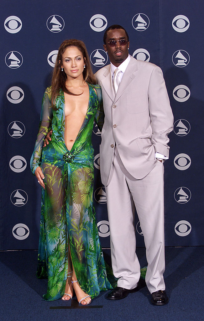 "Jennifer Lopez and Sean ""Diddy"" Combs"