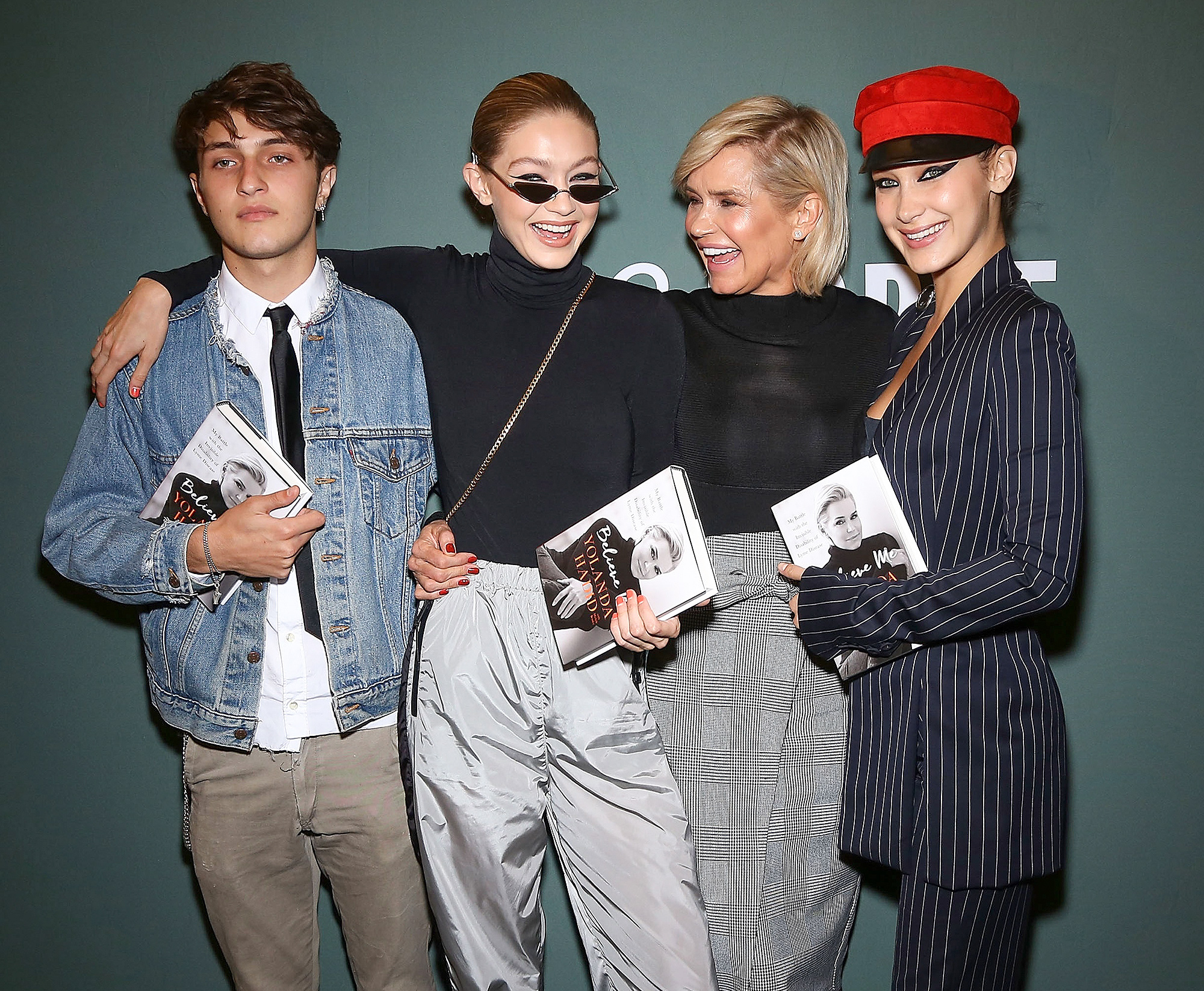 "Yolanda Hadid Signs Copies Of ""Believe Me: My Battle With The Invisible Disability Of Lyme Disease"""