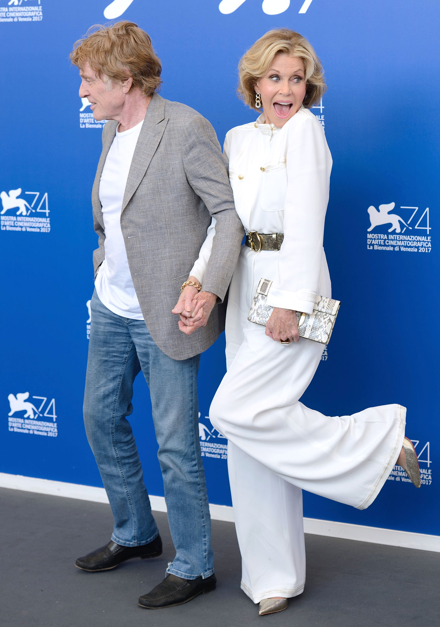 Our Souls At Night Photocall at The 74th Venice Film Festival