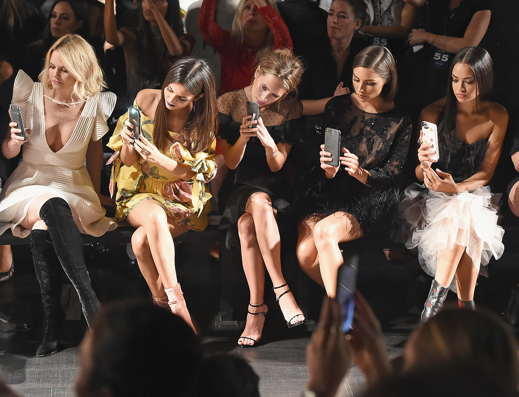 Marchesa - Front Row - September 2017 - New York Fashion Week: The Shows