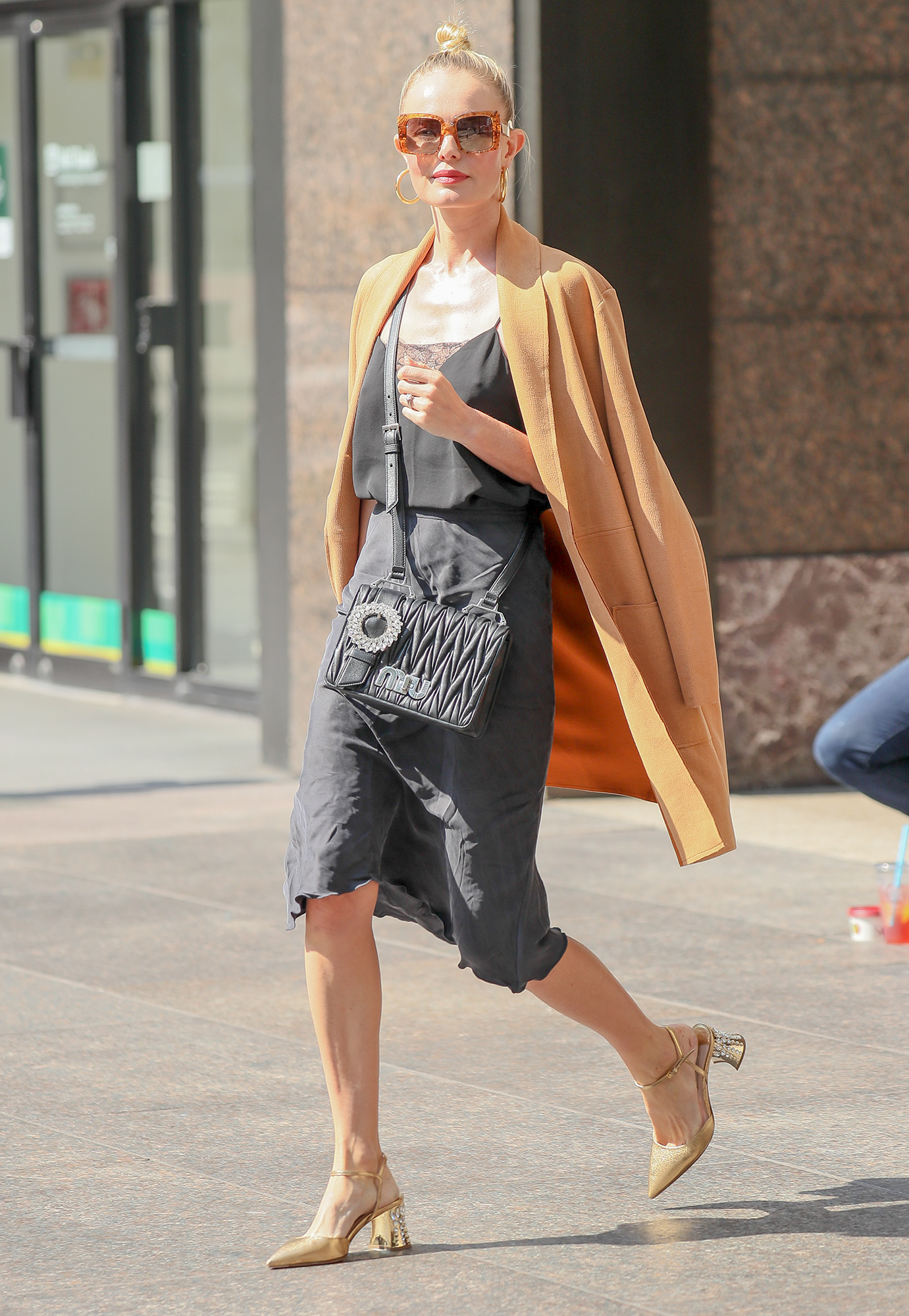 EXCLUSIVE: Kate Bosworth steps out in stylish outfit in New York City