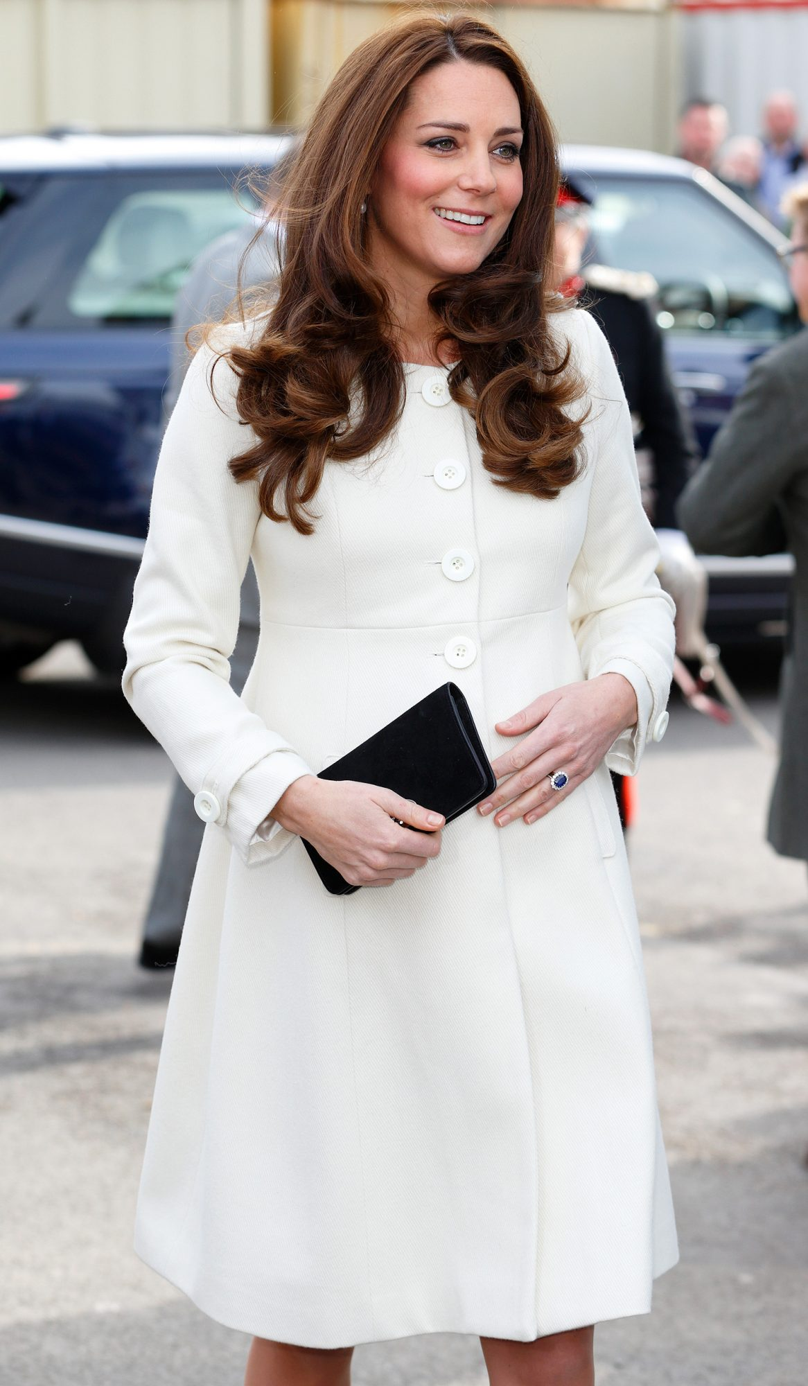 "The Duchess Of Cambridge Visits The Set Of ""Downton Abbey"" At Ealing Studios"