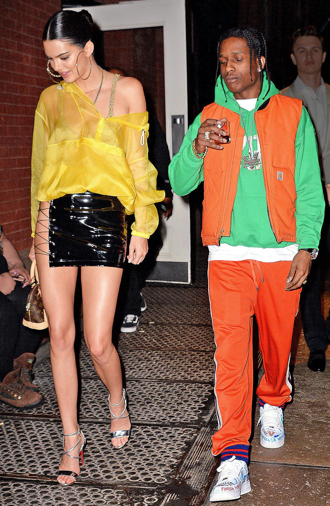 Kendall Jenner and ASAP Rocky leave the Mercer Hotel in New York City