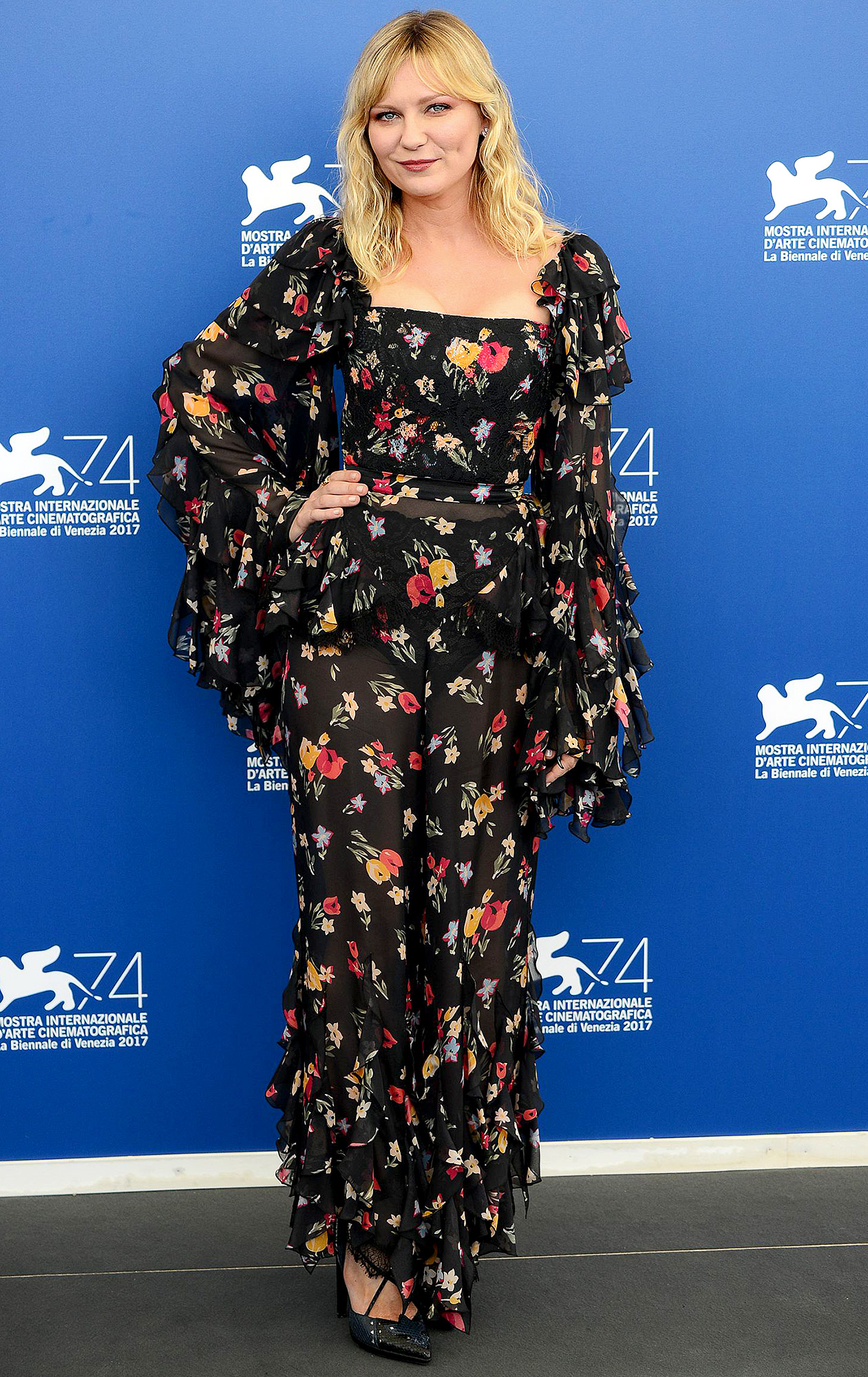 """Celebrities attend a photocall for """"Woodshock"""" during the 74th Venice Film Festival"""