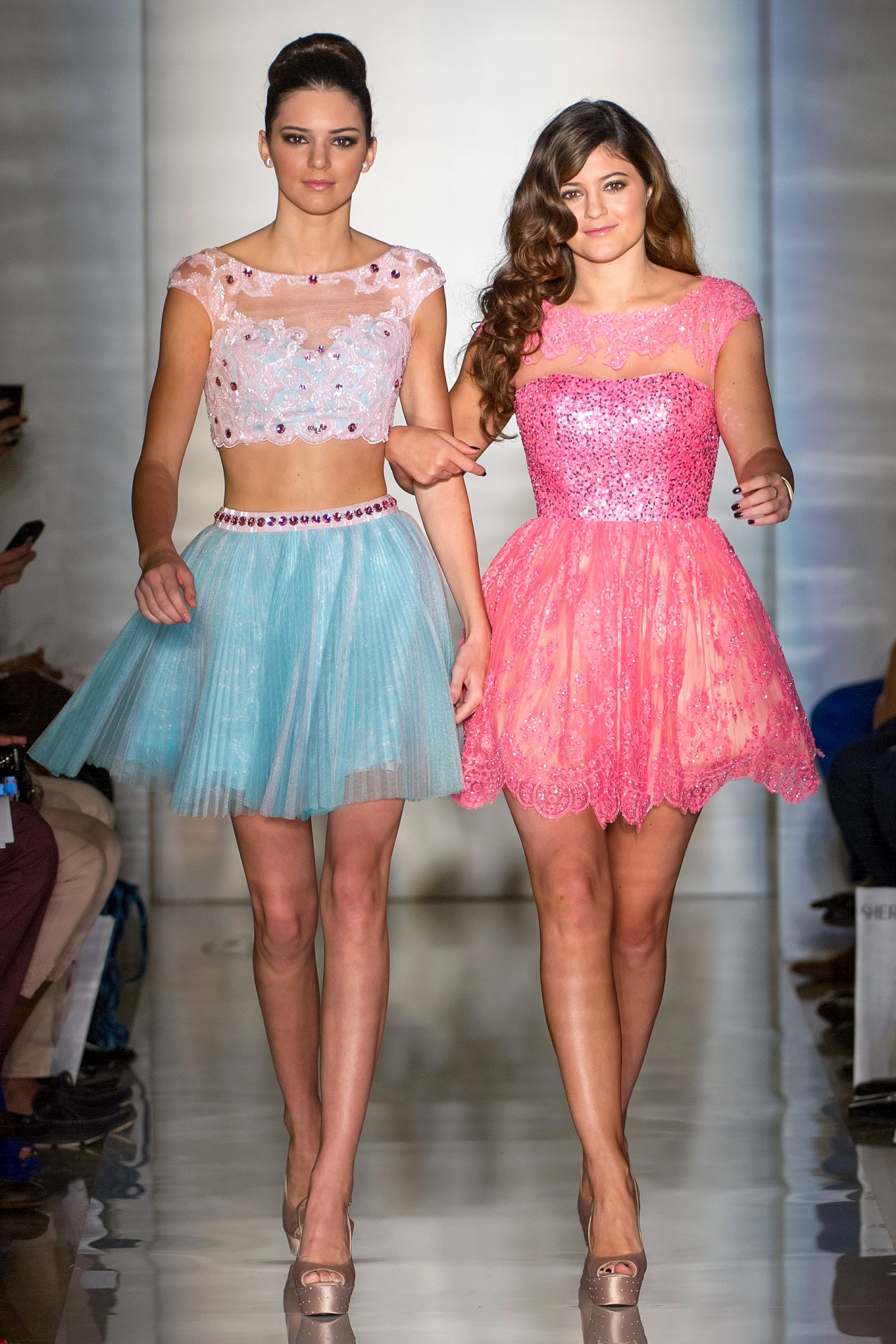 Evening Sherri Hill - Front Row And Backstage - Spring 2013 Mercedes-Benz Fashion Week