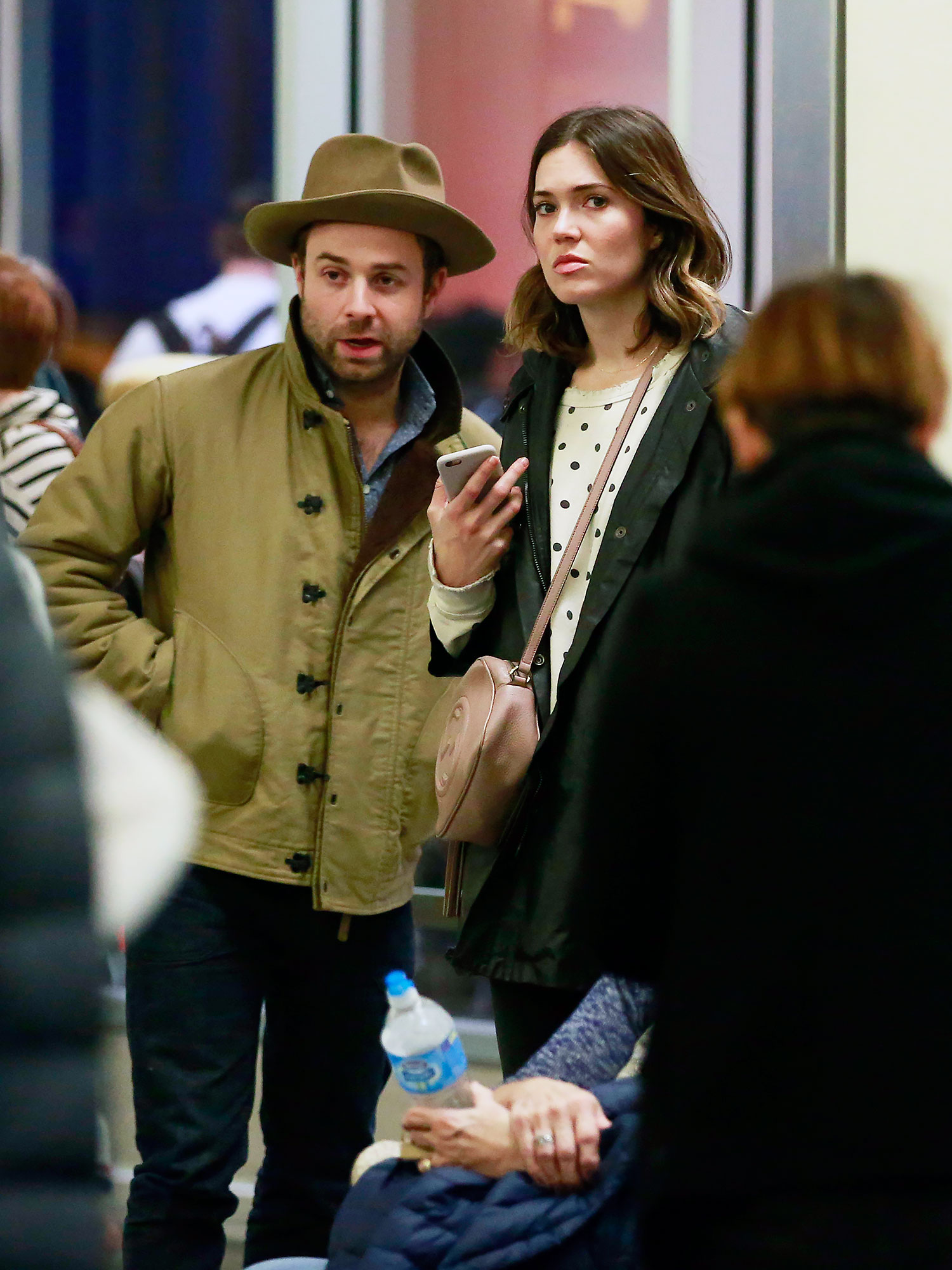 EXCLUSIVE: Mandy Moore cosies up to rumored new beau, Taylor Goldsmith only months after divorcing Ryan Adams.