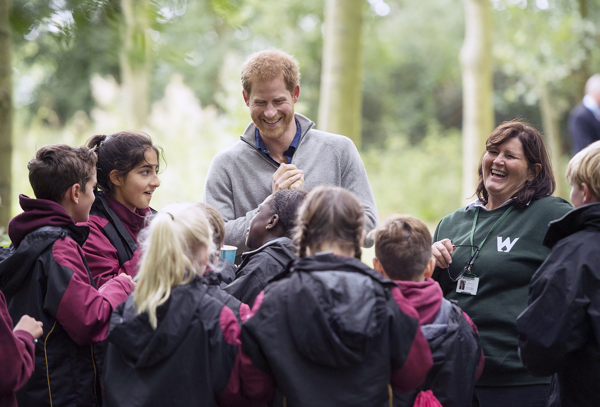 Prince Harry visits The Chatham Green Project, Essex, UK - 14 Sep 2017