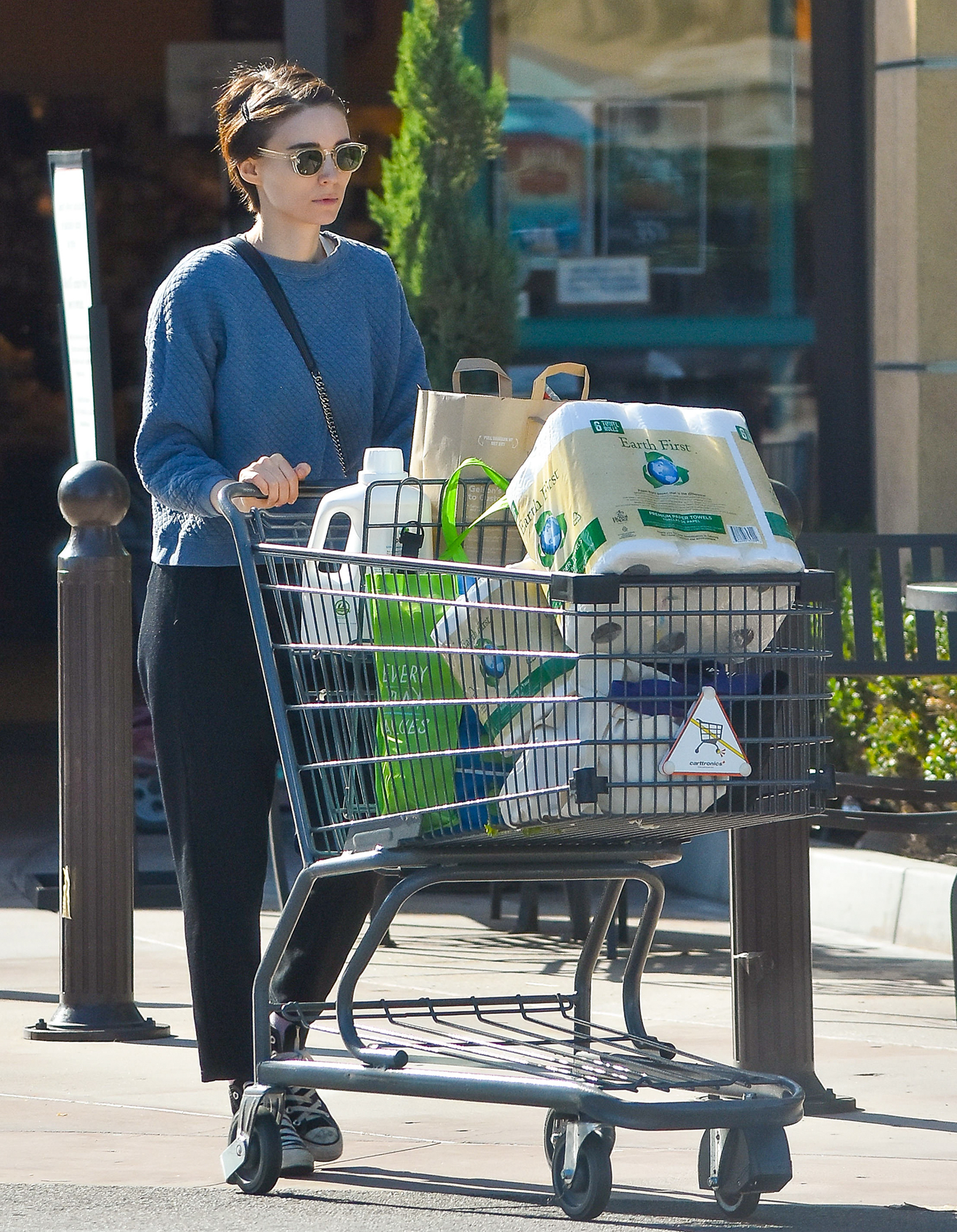 Rooney Mara out and about