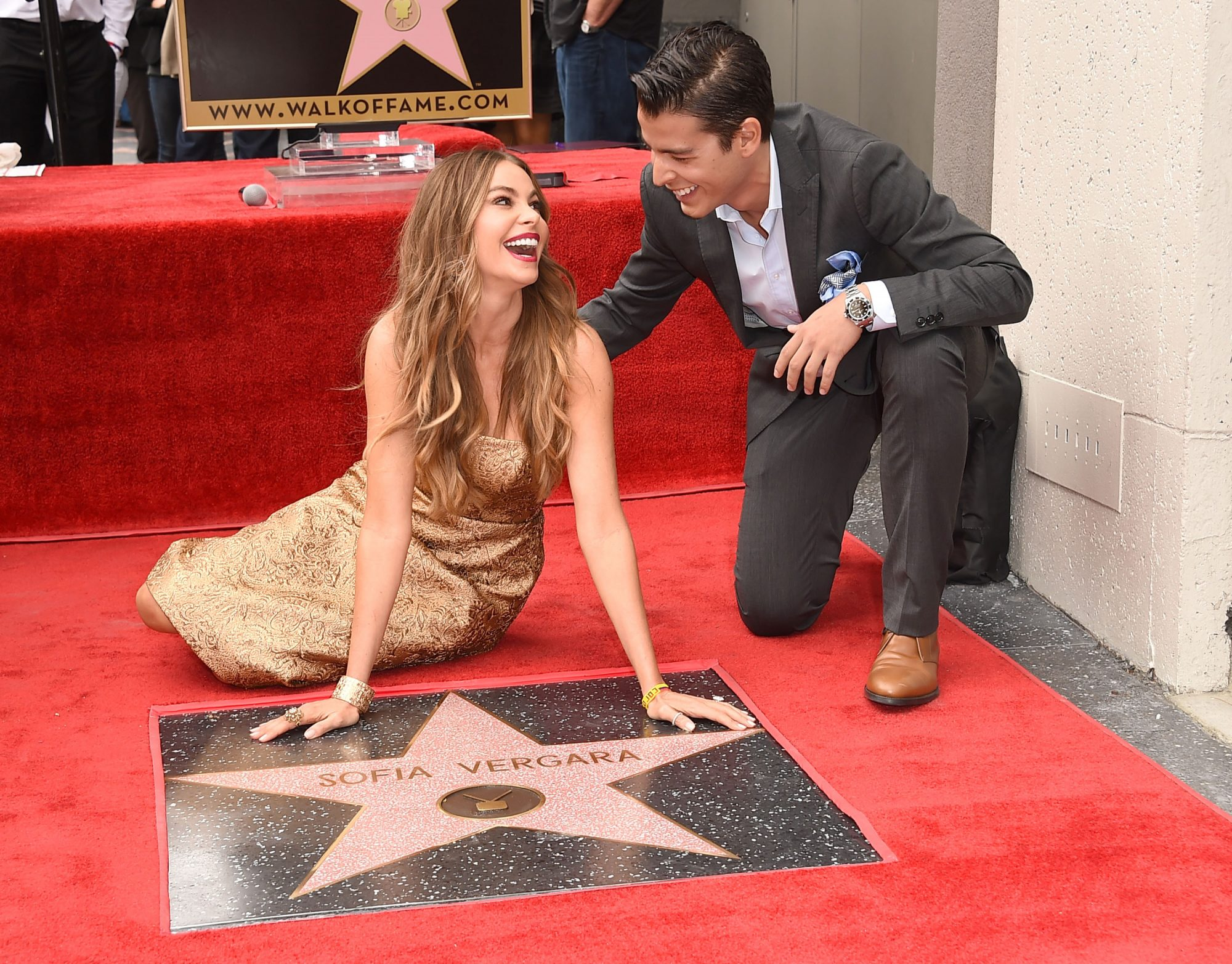 Sofia Vergara Honored With Star On The Hollywood Walk Of Fame