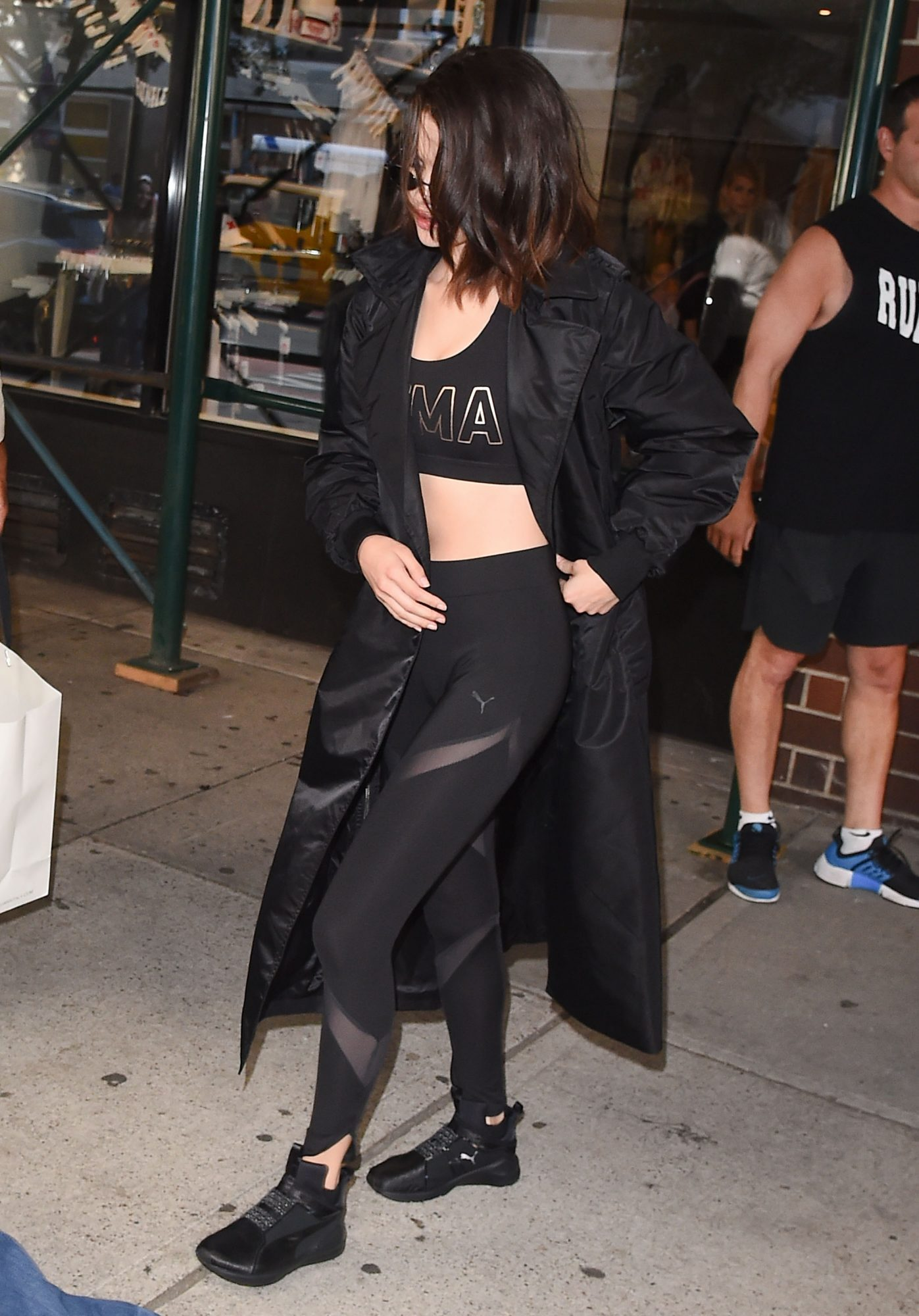 Selena Gomez seen coming out of rumble gym in NYC