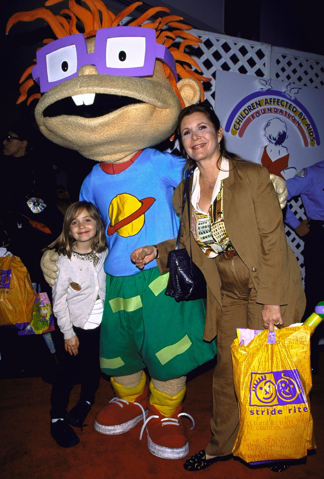Carrie Fisher [& Family]